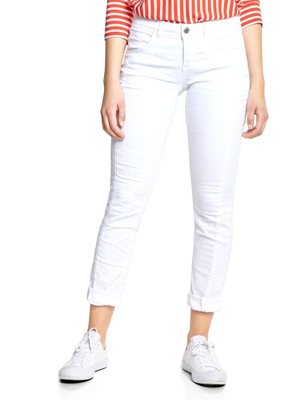 Jean 10000taille 372029 SlimBlancwhite Street One Crissi Fabricant25Femme jLUzMVpGqS
