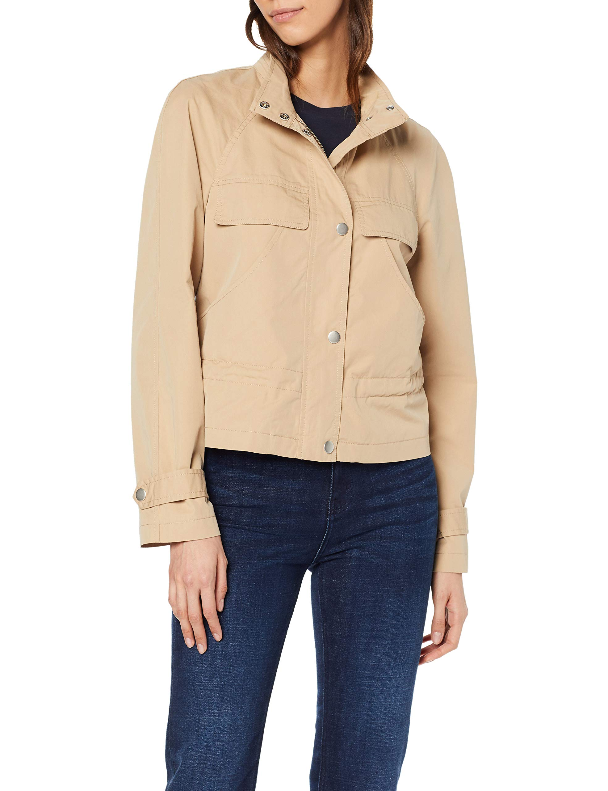 Of Jacket Fabricant40Femme Colors Manteaubeige United Benetton 393Uniquetaille ymw8n0OvN