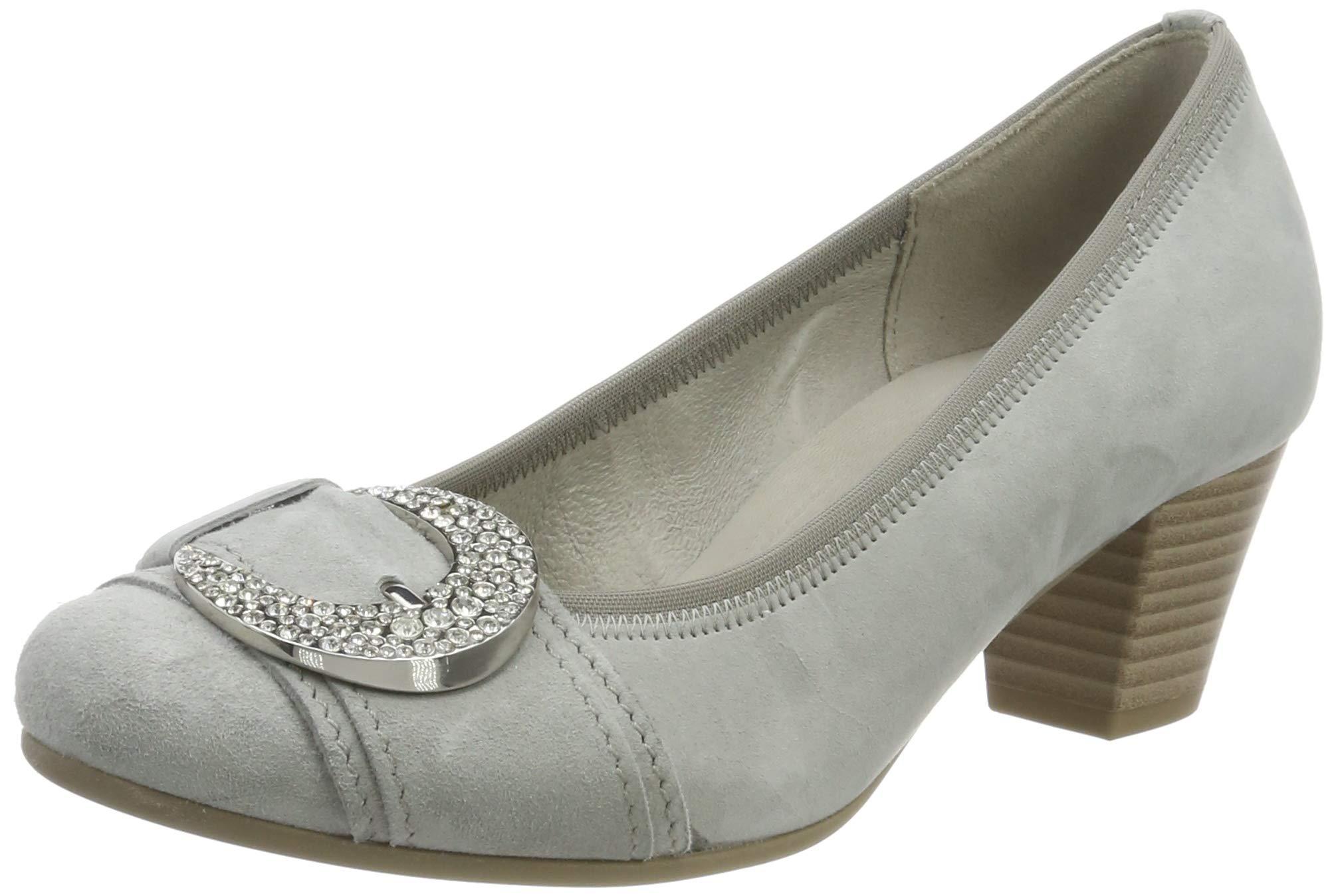 Gabor 5 1938 FemmeGrisgrau Shoes BasicEscarpins Eu R4AjLq35