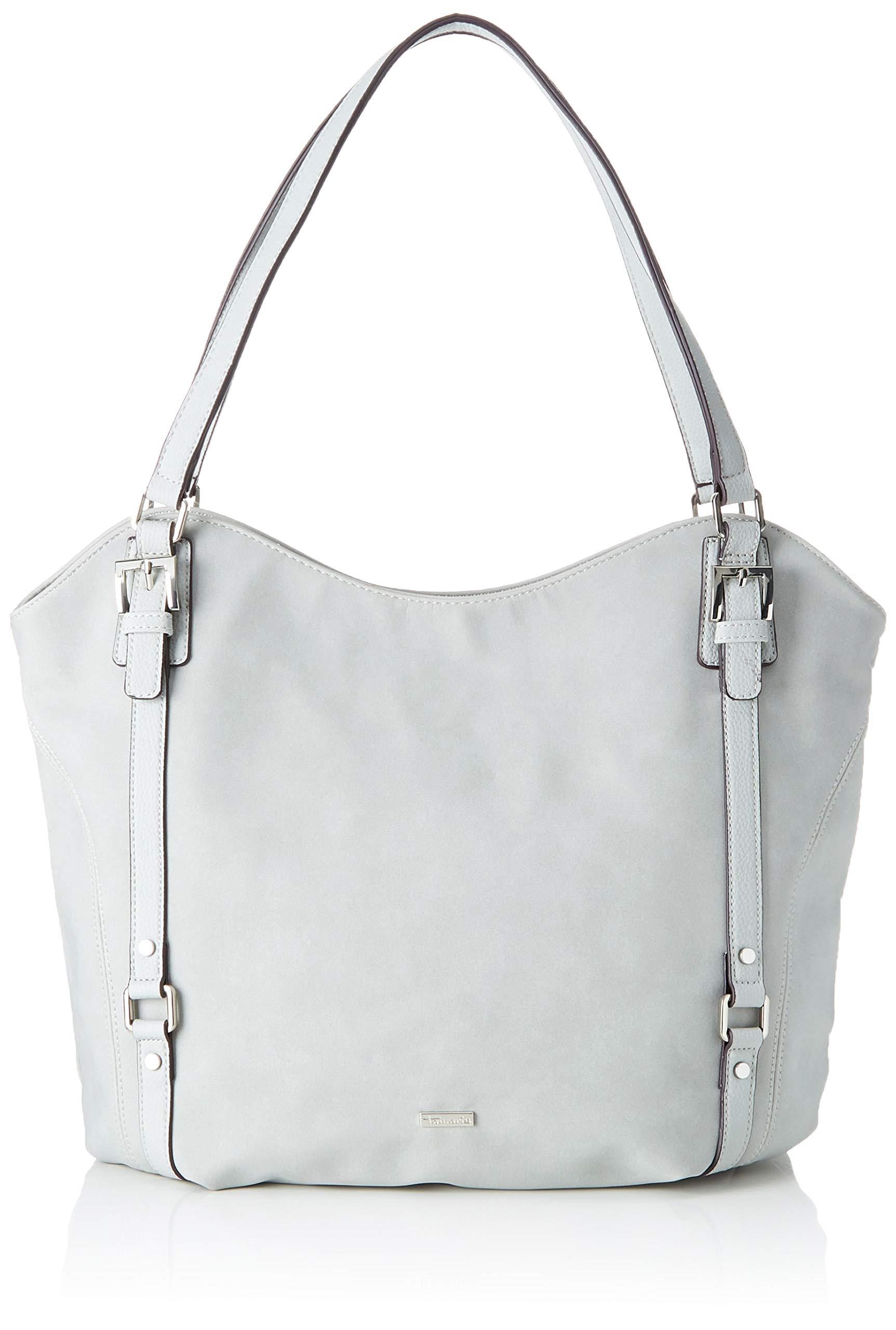 Tamaris FemmeGrislight X Malou H Shopping L Grey BagSac Comb15x33x48 Cmw BtdshQrCx