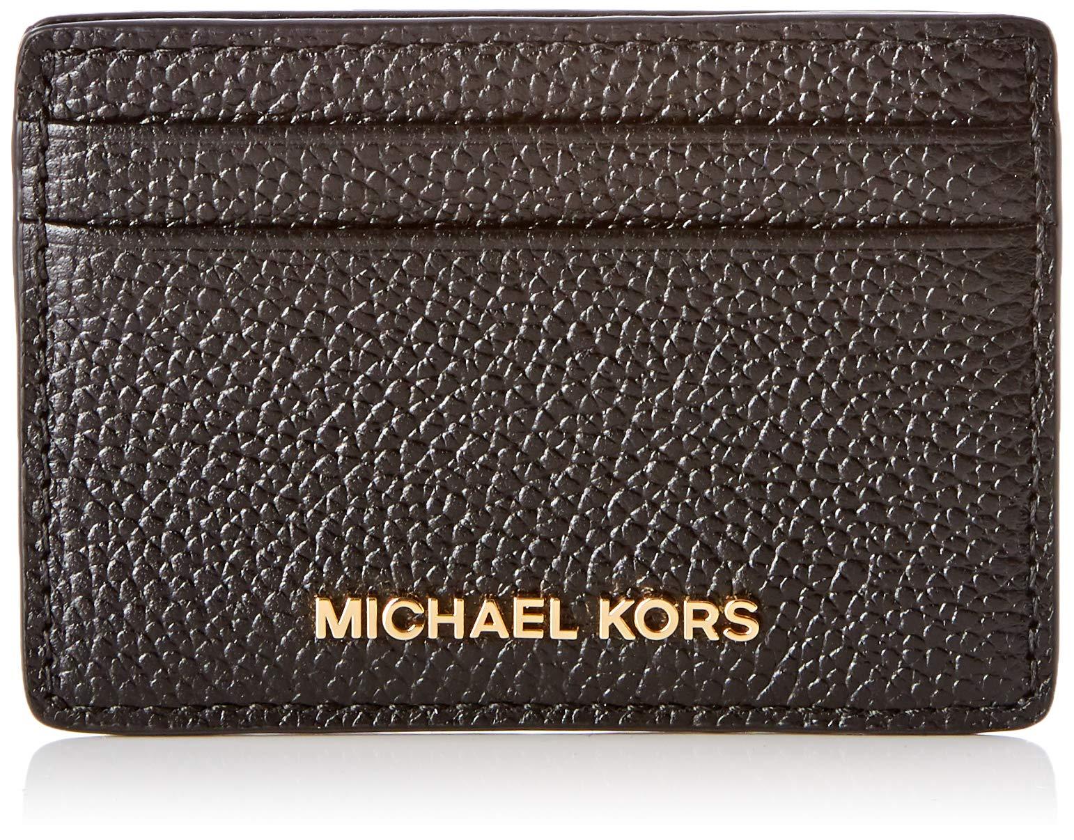 Michael Kors Portefeuille Noirblack Femme Money Pieces qUMVSzp