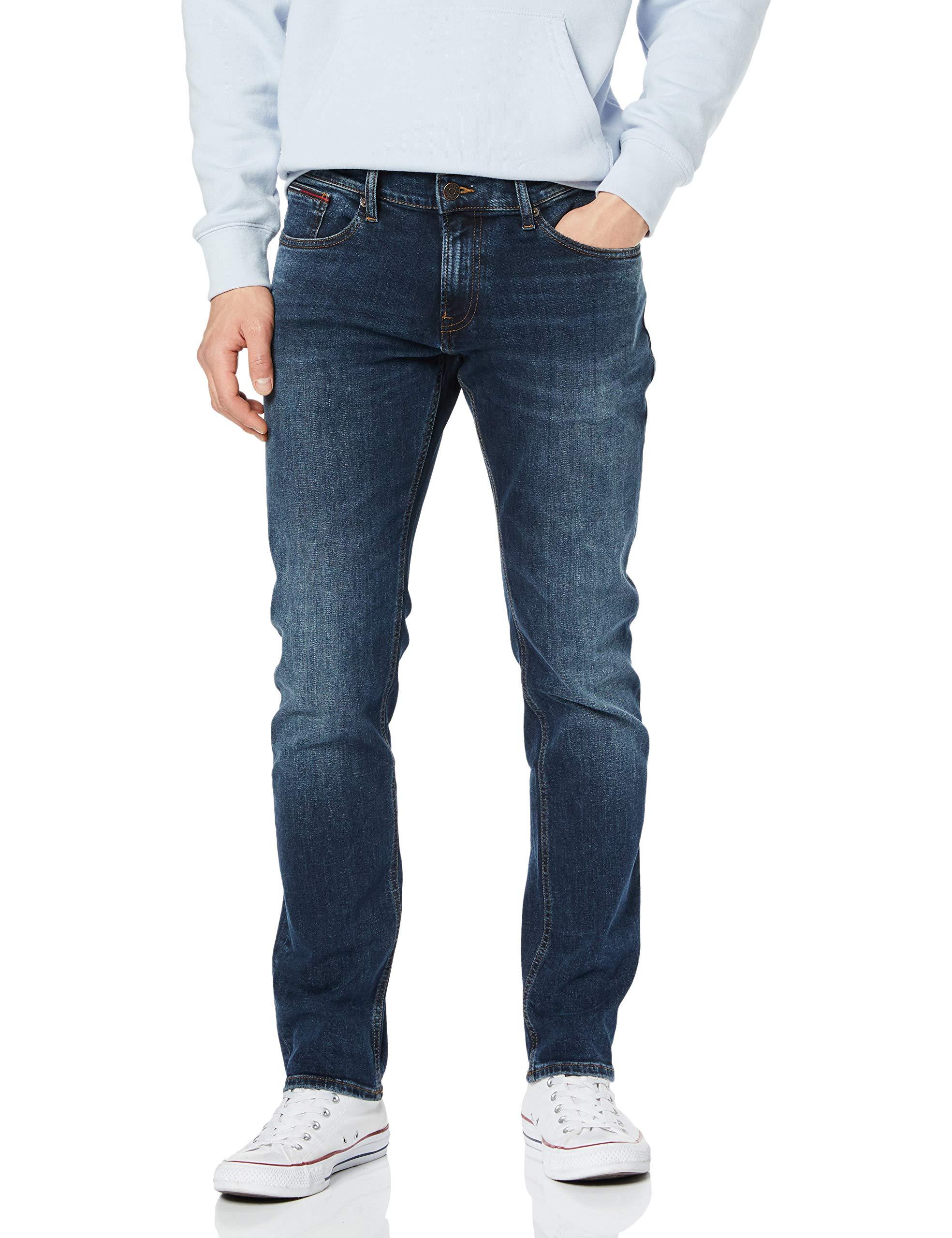 Dk 911W33 Dyrxdk Tommy St l32 Jeans Homme Rex Slim JeanBleudynamic Bl Scanton W2IEH9D