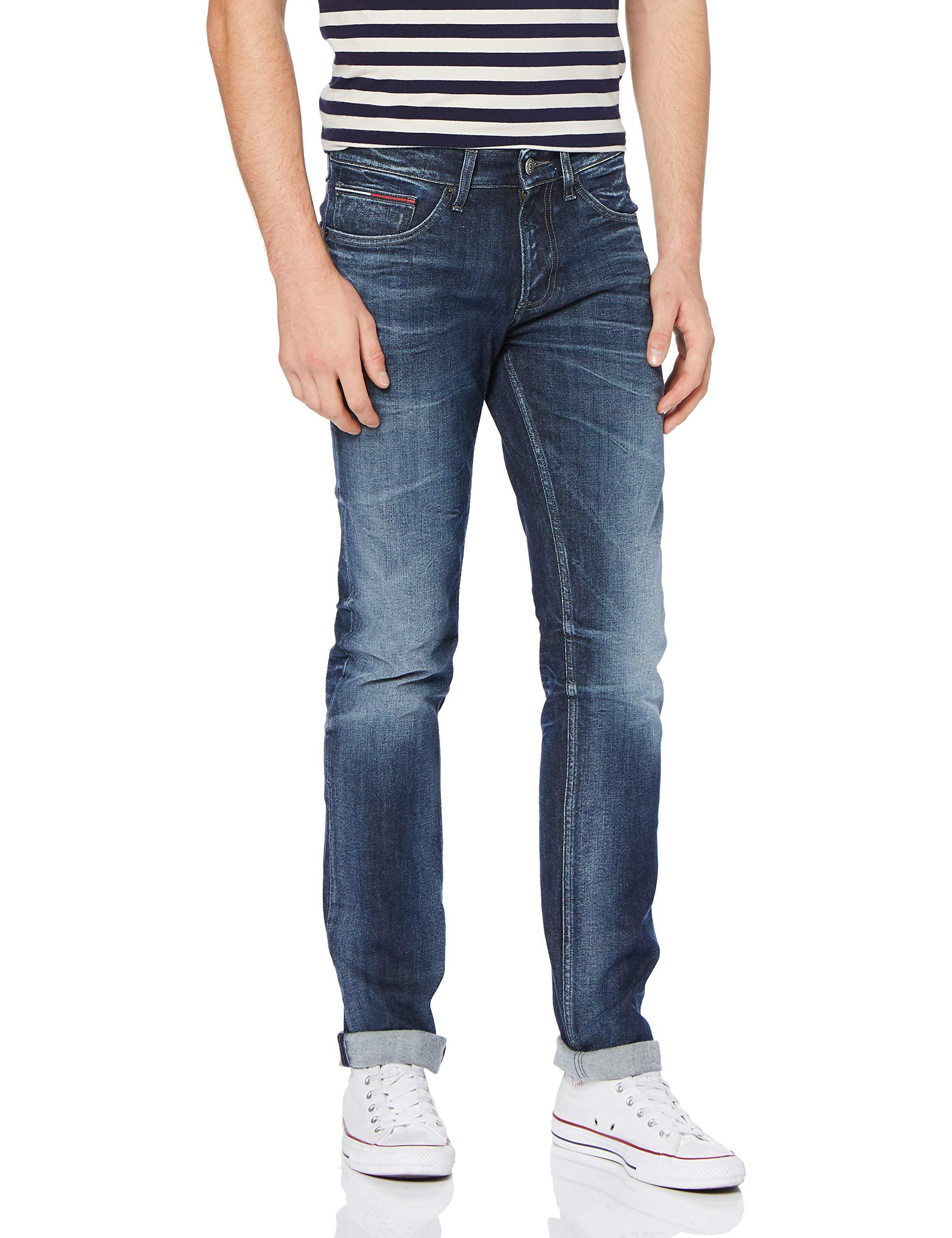 Tommy Dark Du JeanBleuraily 34ltaille Rlyd Bl Fabricant3436Homme Slim X Scanton Str Jeans 91136w m8nwvN0