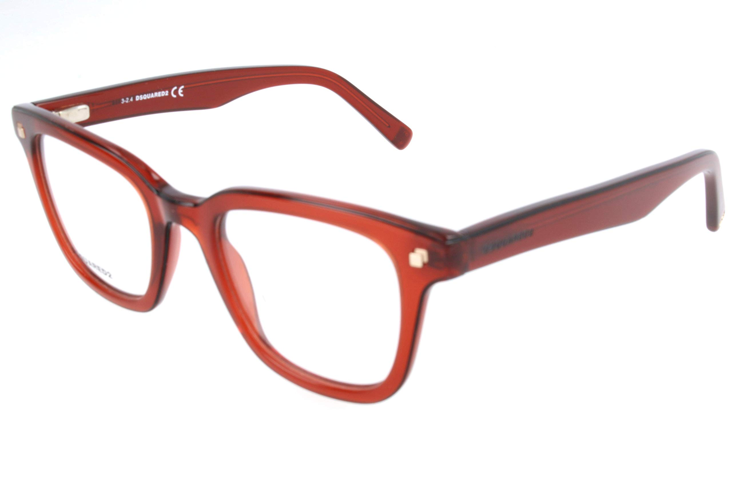 Homme Brille De 0 Lunettes Dq5165 Dsquared2 Dsquared 090 49 SoleilRougered49 IYb6f7gyv