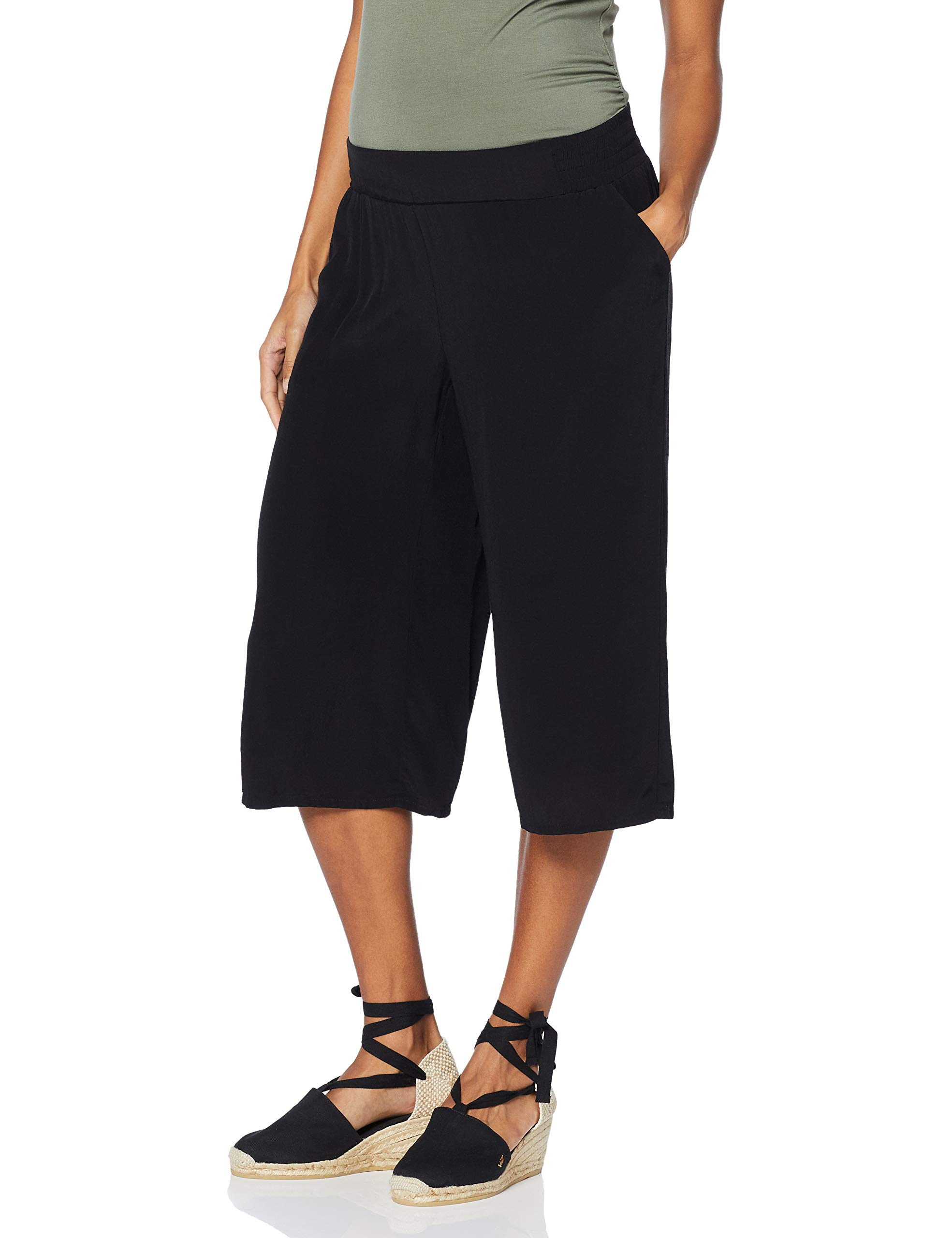 Esprit Coulotte 00142taille Pantalons Utb Maternity Pants maternitéNoirblack Fabricant40Femme 6gbfyY7v