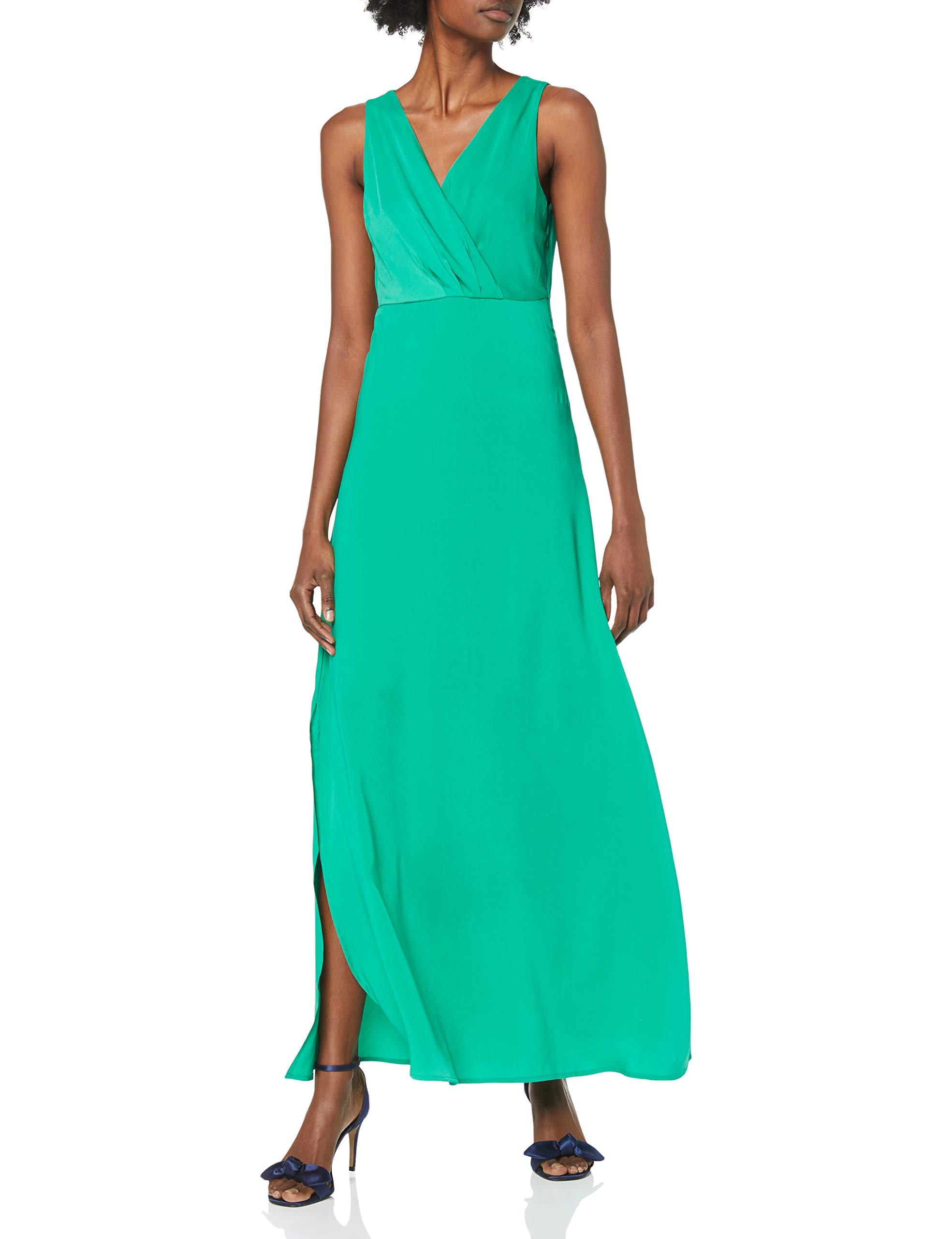 l Vila za RobeVert Fabricant42Femme S Green44taille Vifunda Maxi Dress Pepper NwOm8n0v