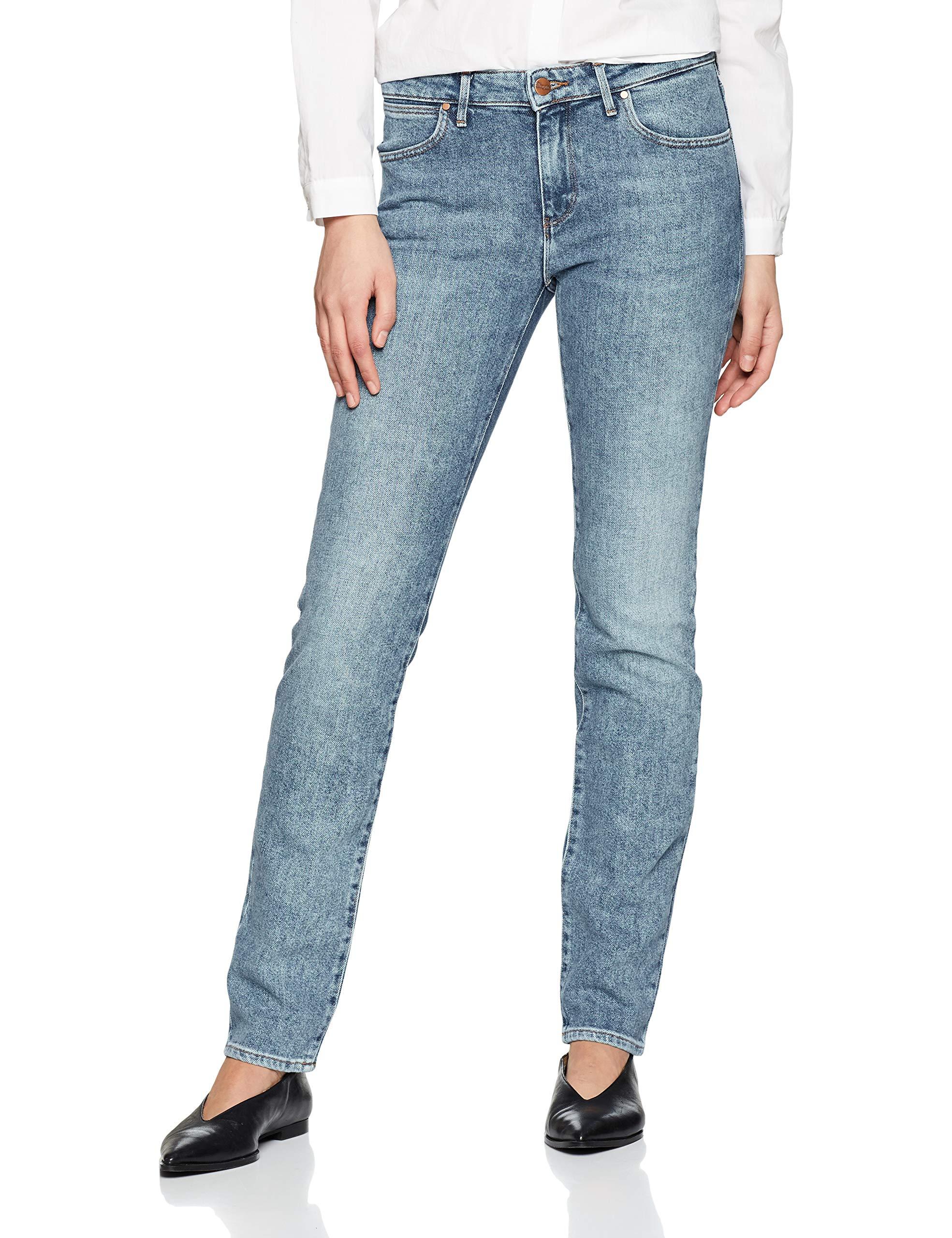 JeansBleudesert Femme Slim' Sage Wrangler 21z28w32l Ok8XwPn0
