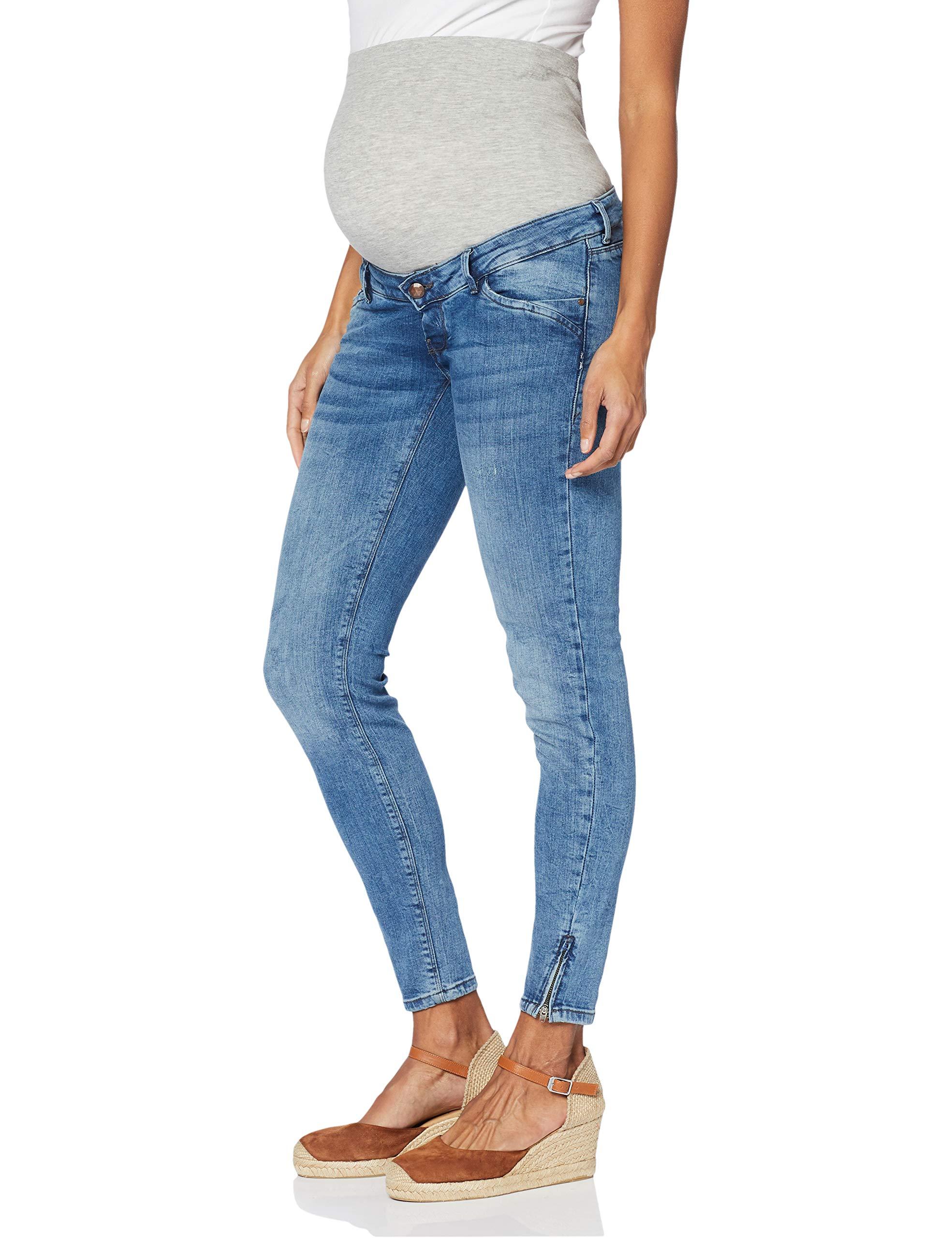 Slim Denim42taille PantalonsMaternitéBleu Mamalicious Mlcadiz Jeans Light Fabricant32Femme Blue Ybf76yg