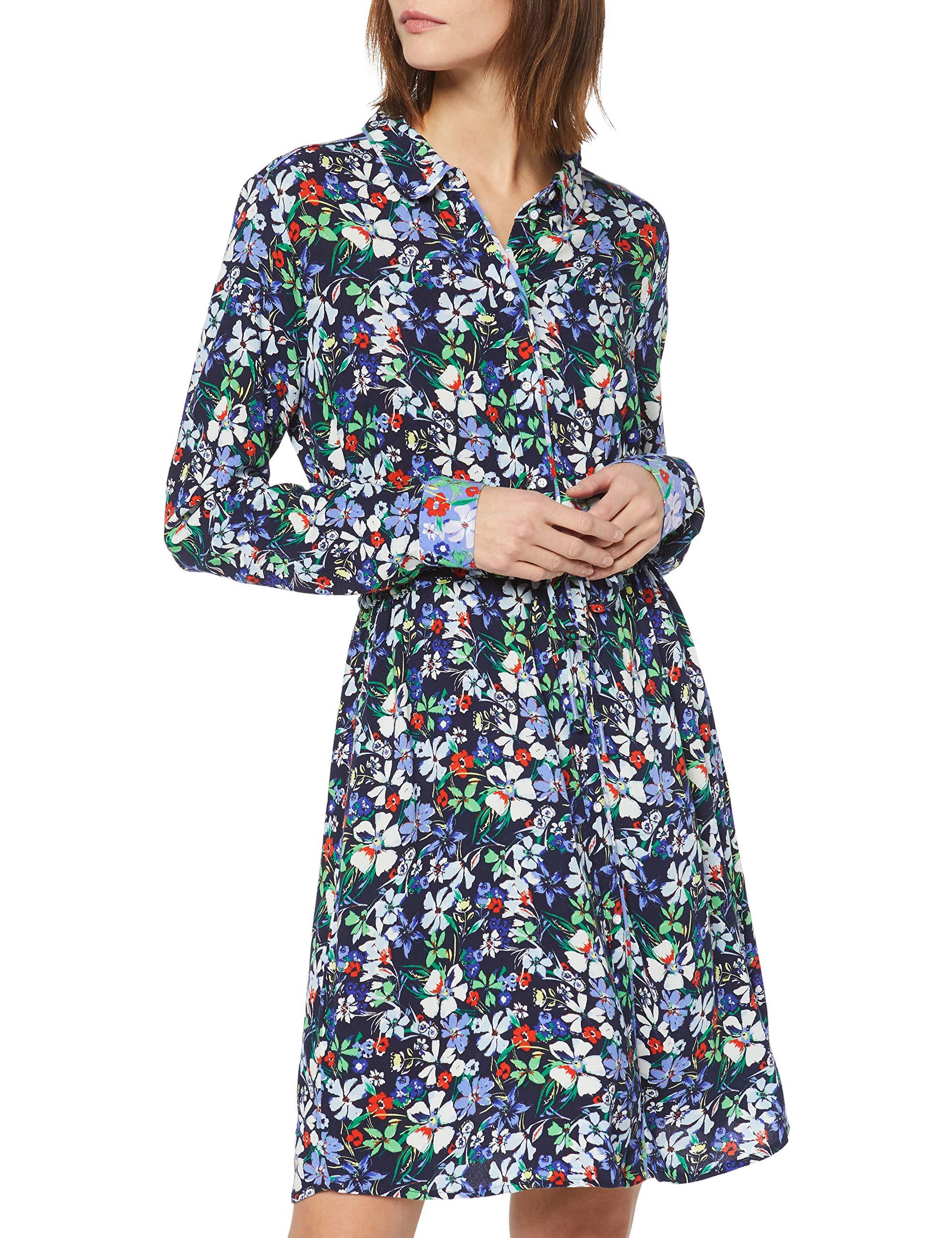 largeFemme RobeMulticoloreflower FabricantXx Denim Tailor 15874Smalltaille Tom 1009894 Design DWIH29E
