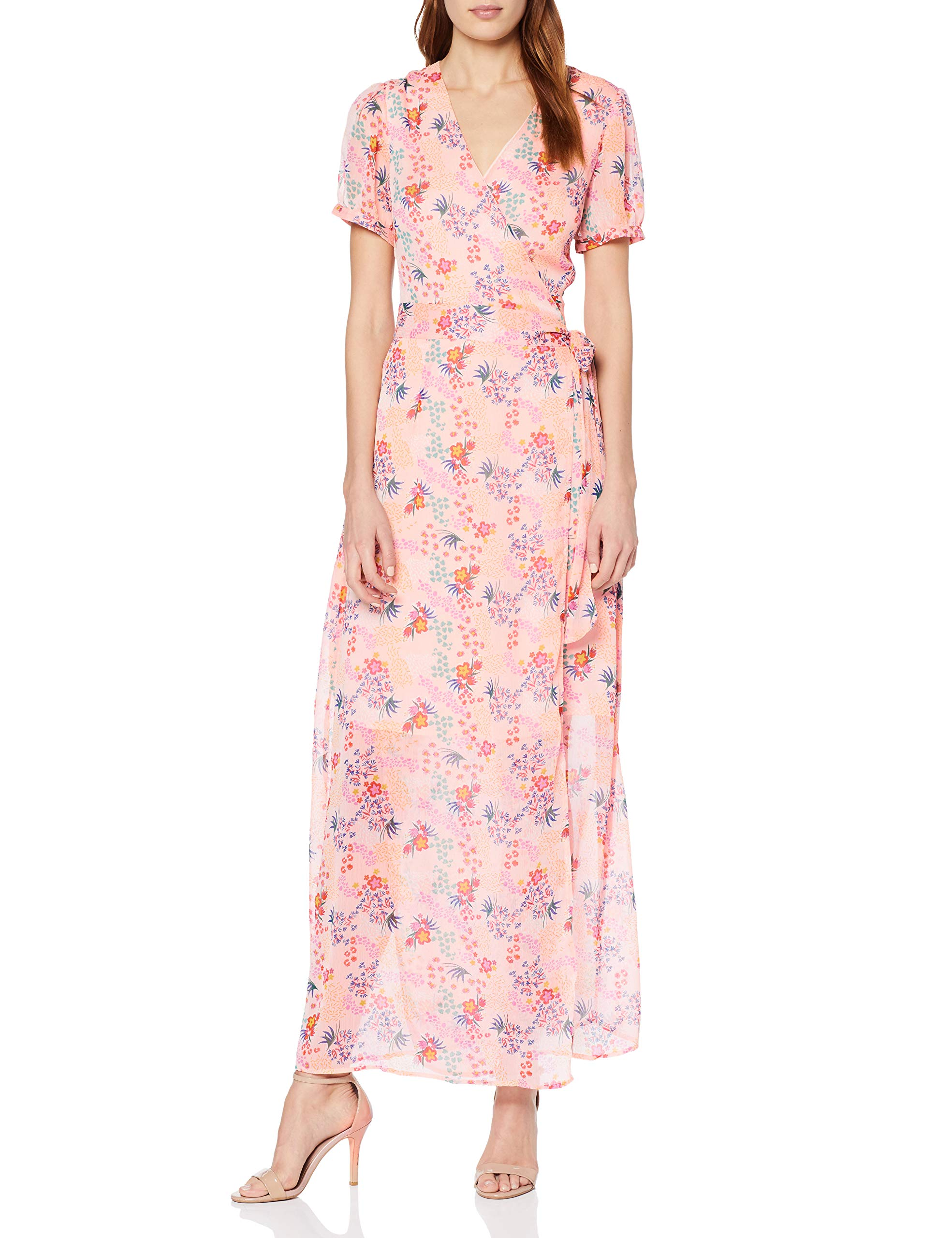 Mini Pink Floral Glamorous RobeMulticolorelight Bw5138taille Summer Fabricant10Femme Dress lJuT3FK1c
