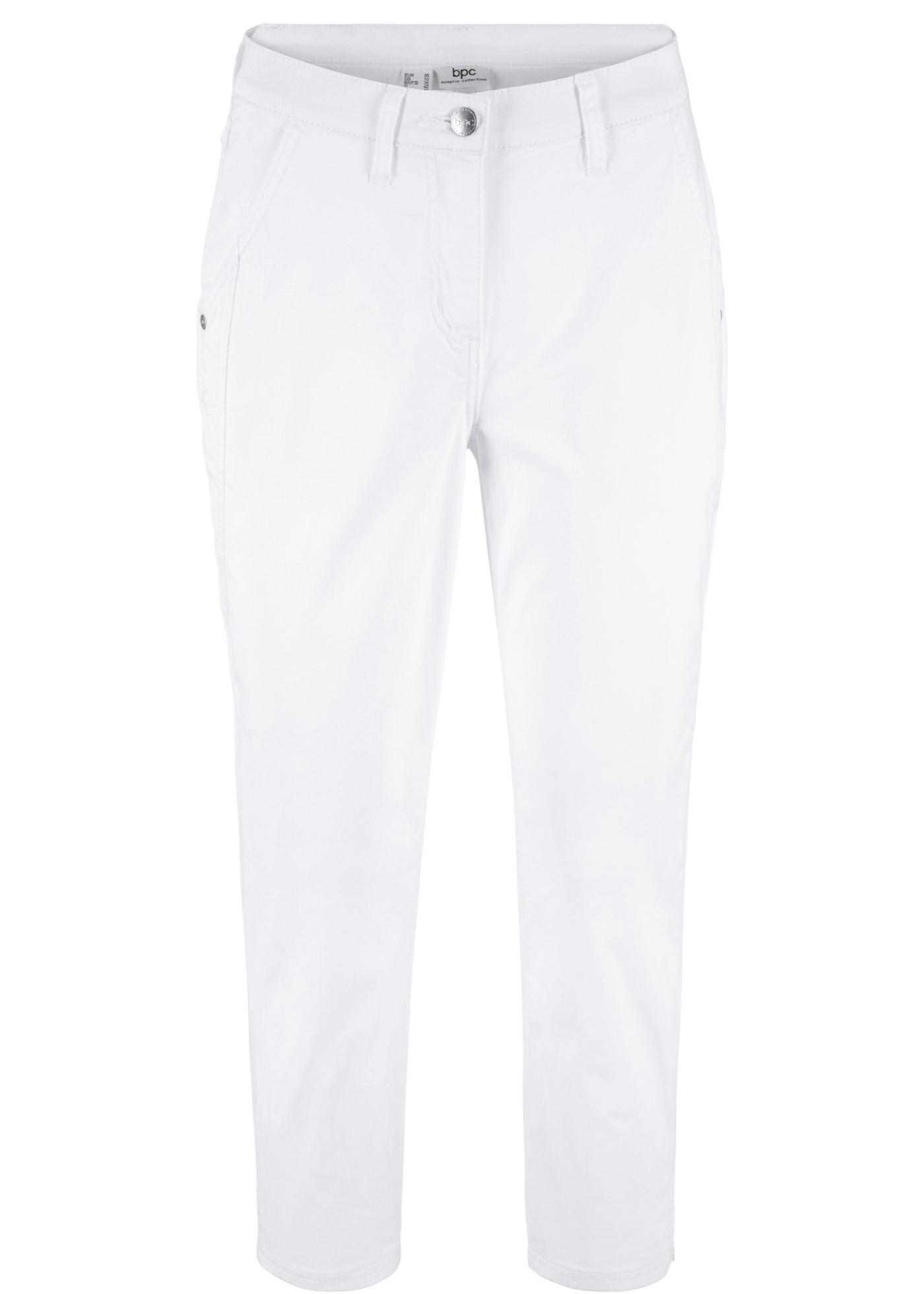 3 CollectionPantalon 4Slim Bpc Blanc Bonprix Fit Pour Femme eIYDWEH92