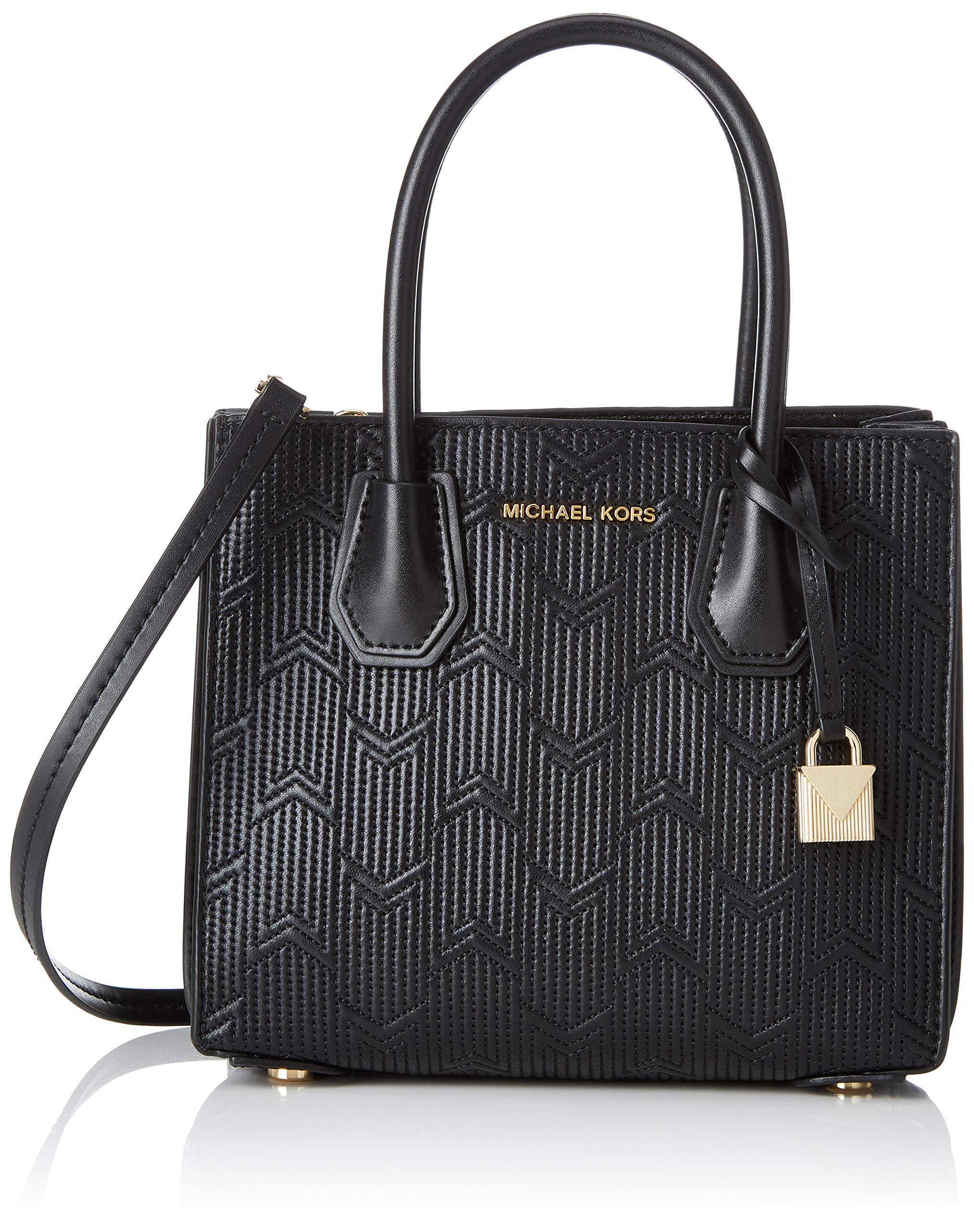 Cmb 6 Michael Kors X H Mercer MessengerBesace T 2x19x21 FemmeNoirblack10 Medium Acordion ul1Tc3JFK