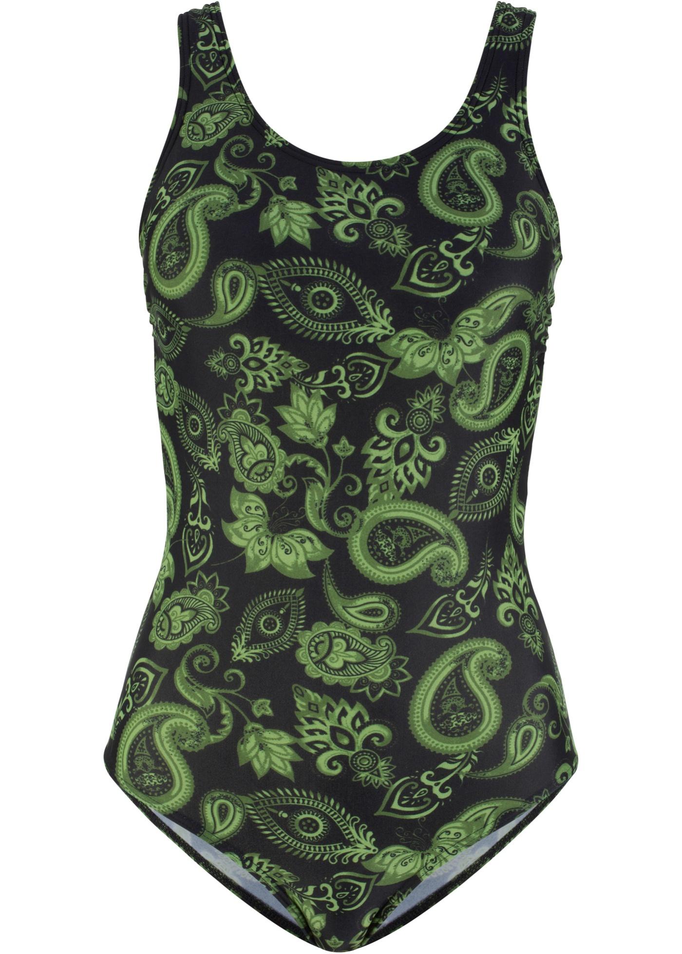 Bpc Bonprix Pièce Vert Femme Pour CollectionMaillot 1 N8nOvw0m