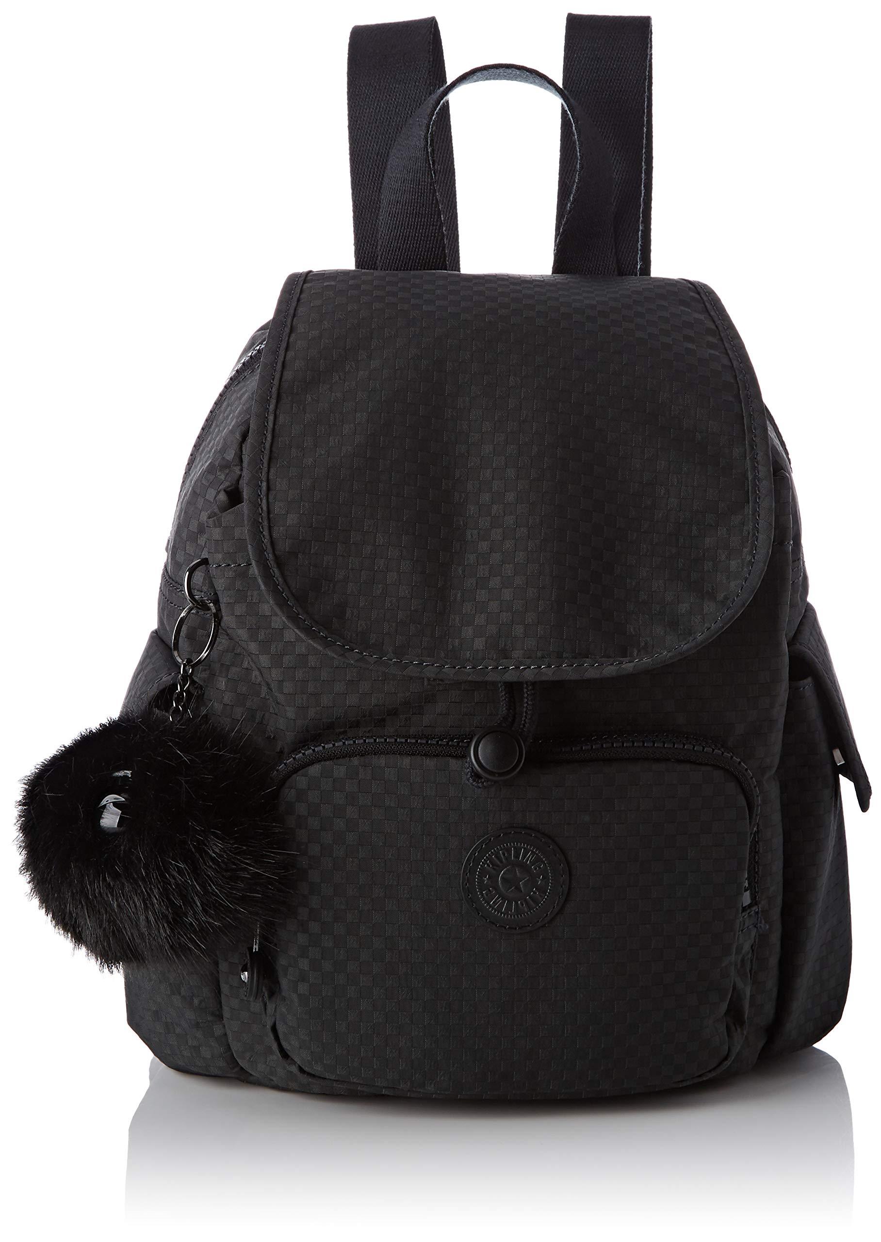 Black MiniSacs Pack City Kipling À Dos FemmeNoirpowder CBordexW