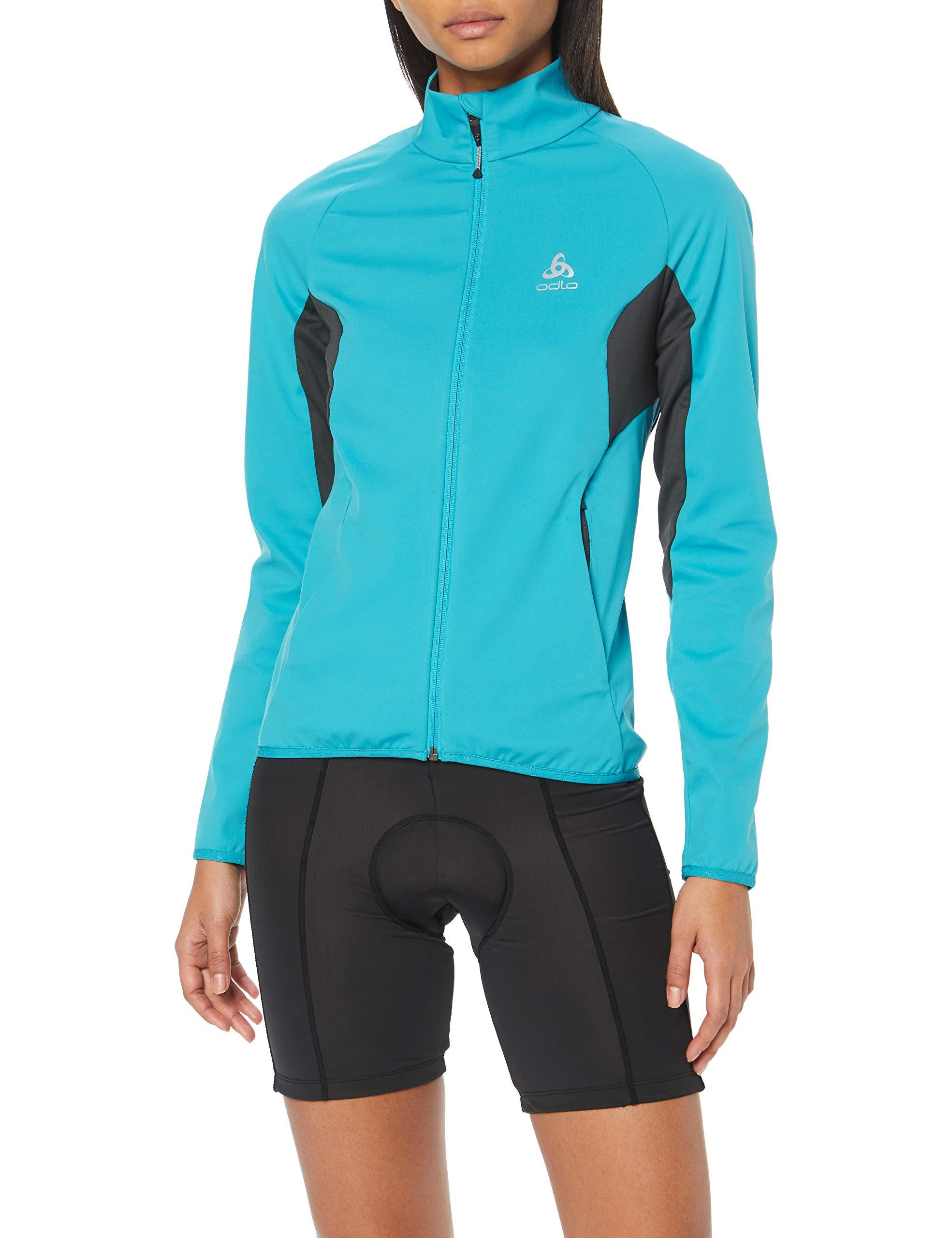 De graphite Veste SportMulticolorealgiers Grey Odlo Stryn Softshell Jacket Blue 20267X small Femme srdxBthQCo
