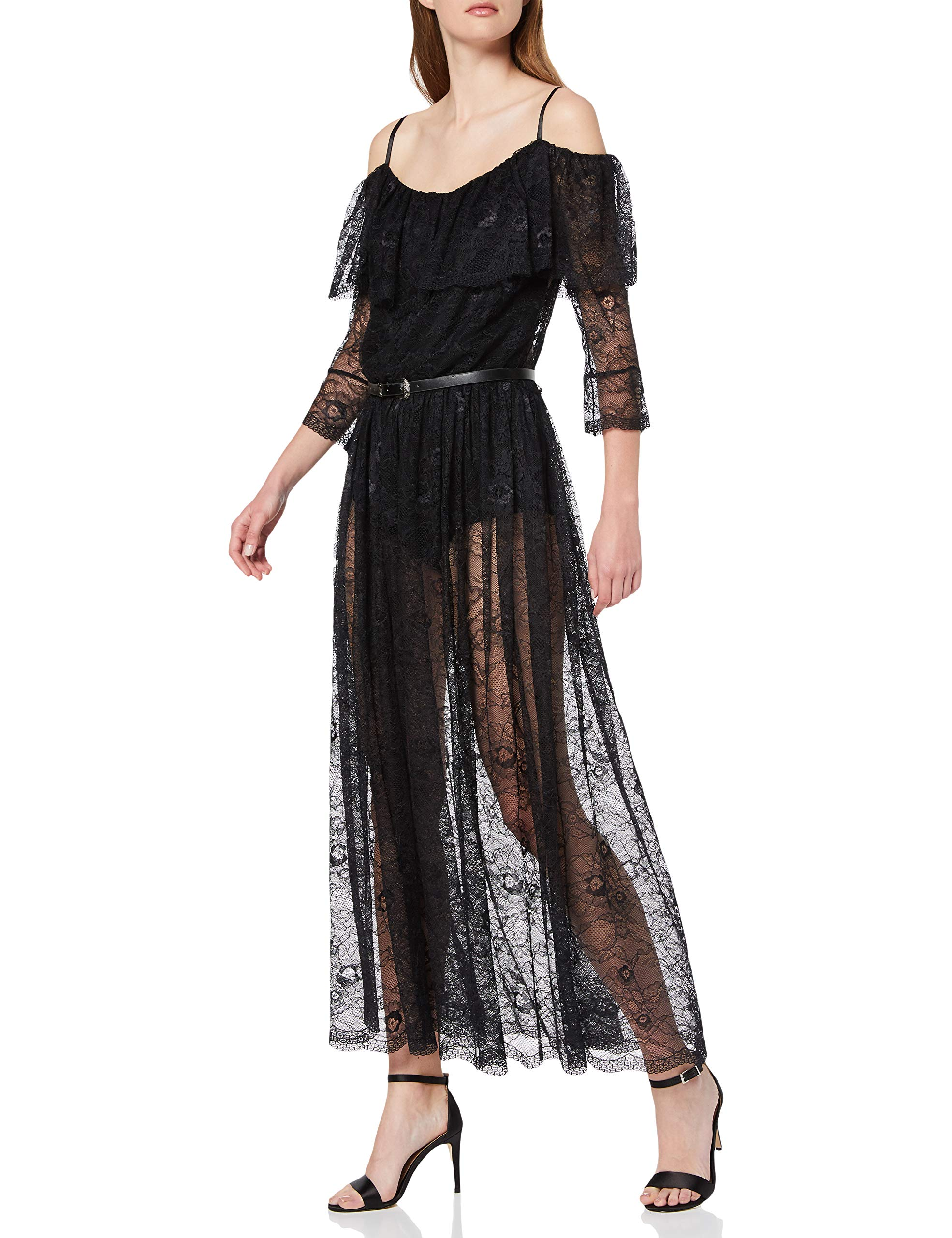 Rinascimento Robe SoiréeNoirnero De Femme Cfc0091313003 B001Small tQdrhsC