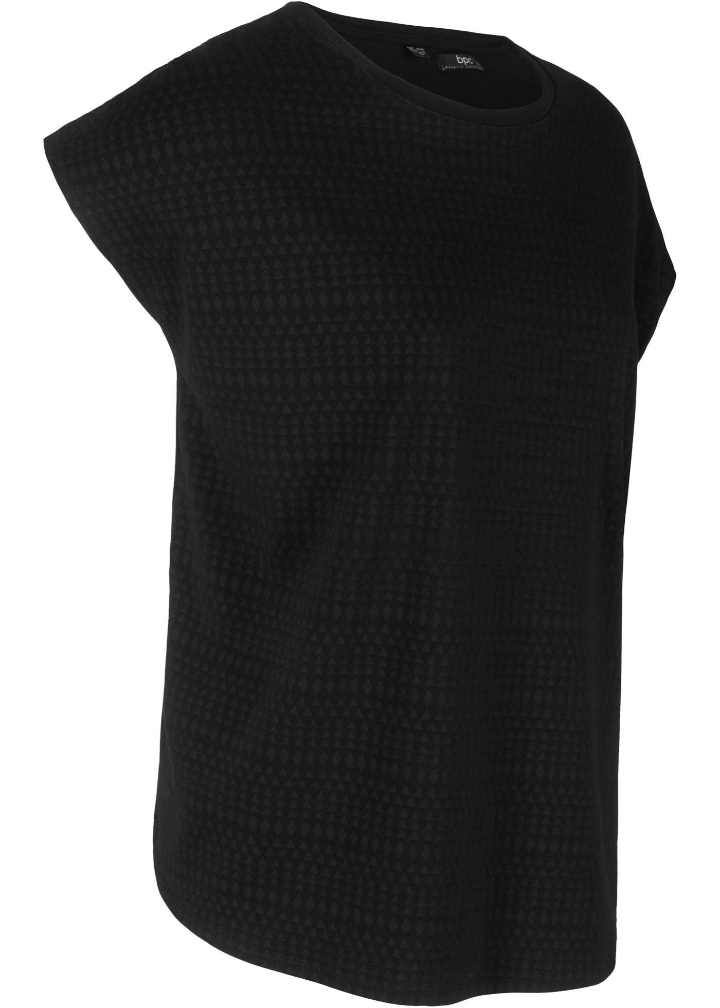 Bpc Courtes Bonprix Noir CollectionT À De Manches Femme shirt Sport Pour uKJcTF13l5