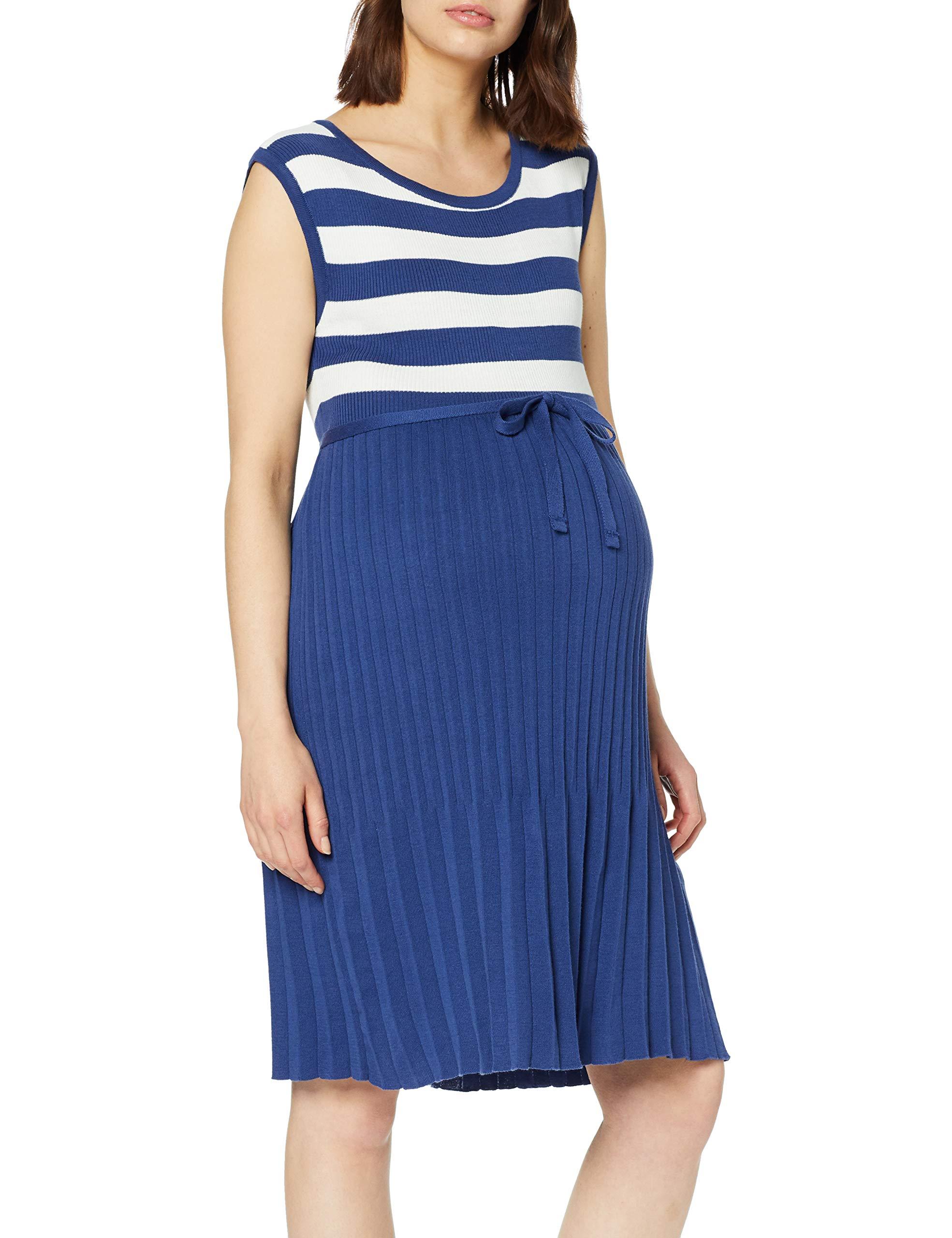 40544taille RobeMulticoloredark Blue Knit FabricantX largeFemme Esprit Maternity Dress Sl UGzqSMVp