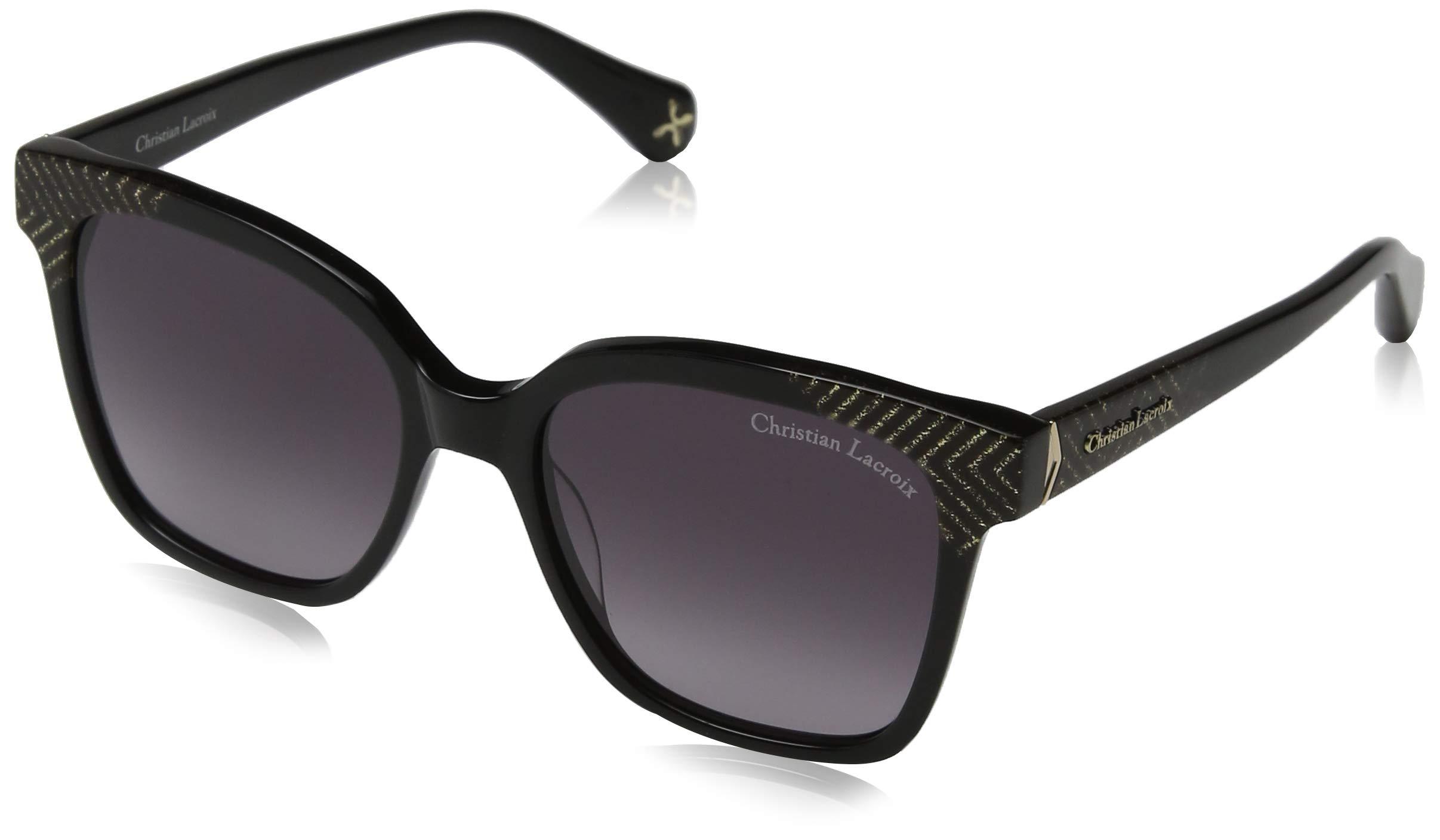 Cl De LunettesNoir Femme Lacroix Gold Glitter 0 black52 Montures Christian hosBtdxQrC