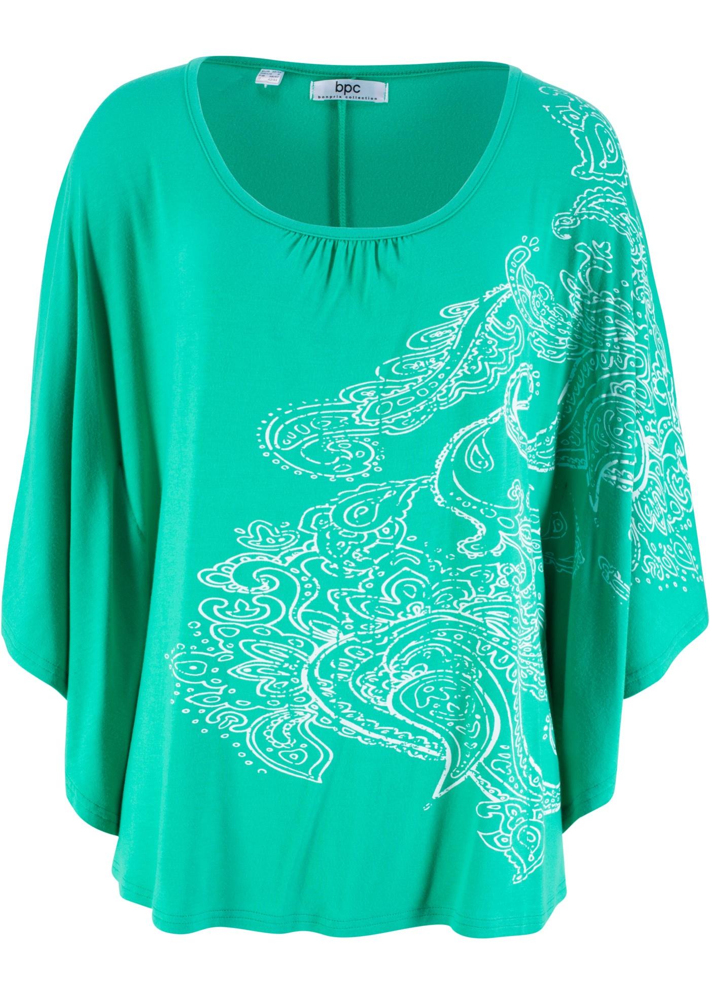 Bpc Vert souris shirt Pour Chauve Bonprix CollectionT Manches Femme j54ARL3