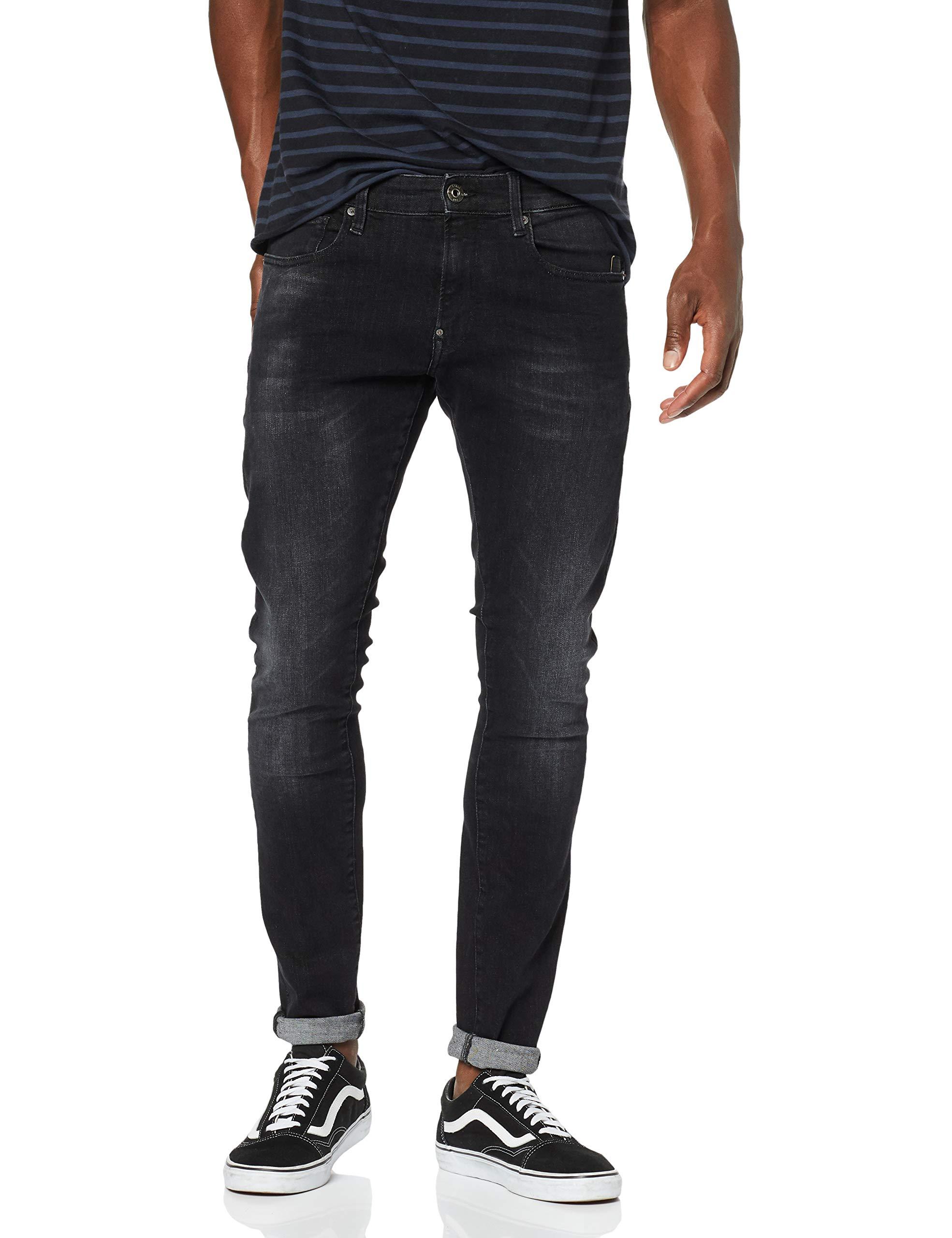 G l34taille Fabricant29wL34 a592W29 Revend star Faded Raw Super SlimJeans A634 Aged HommeNoirmedium zpUVSMq