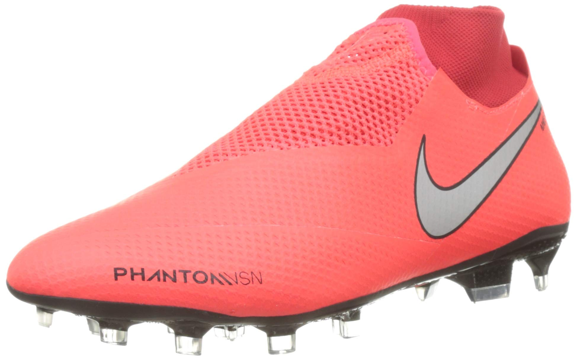 metallic Silver NikePhantom Vsn Pro Chaussures Crimson Df 60042 Fg De Football 600 Eu Rougebright fY6g7vby