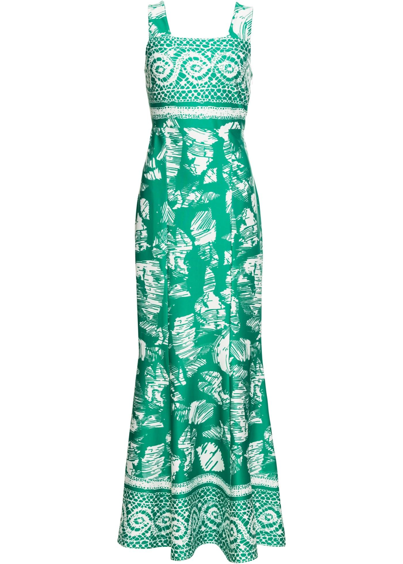 Boutique Imprimé À BonprixRobe Vert Pour Manches D'été Sans Femme Bodyflirt rdBoWQxCe