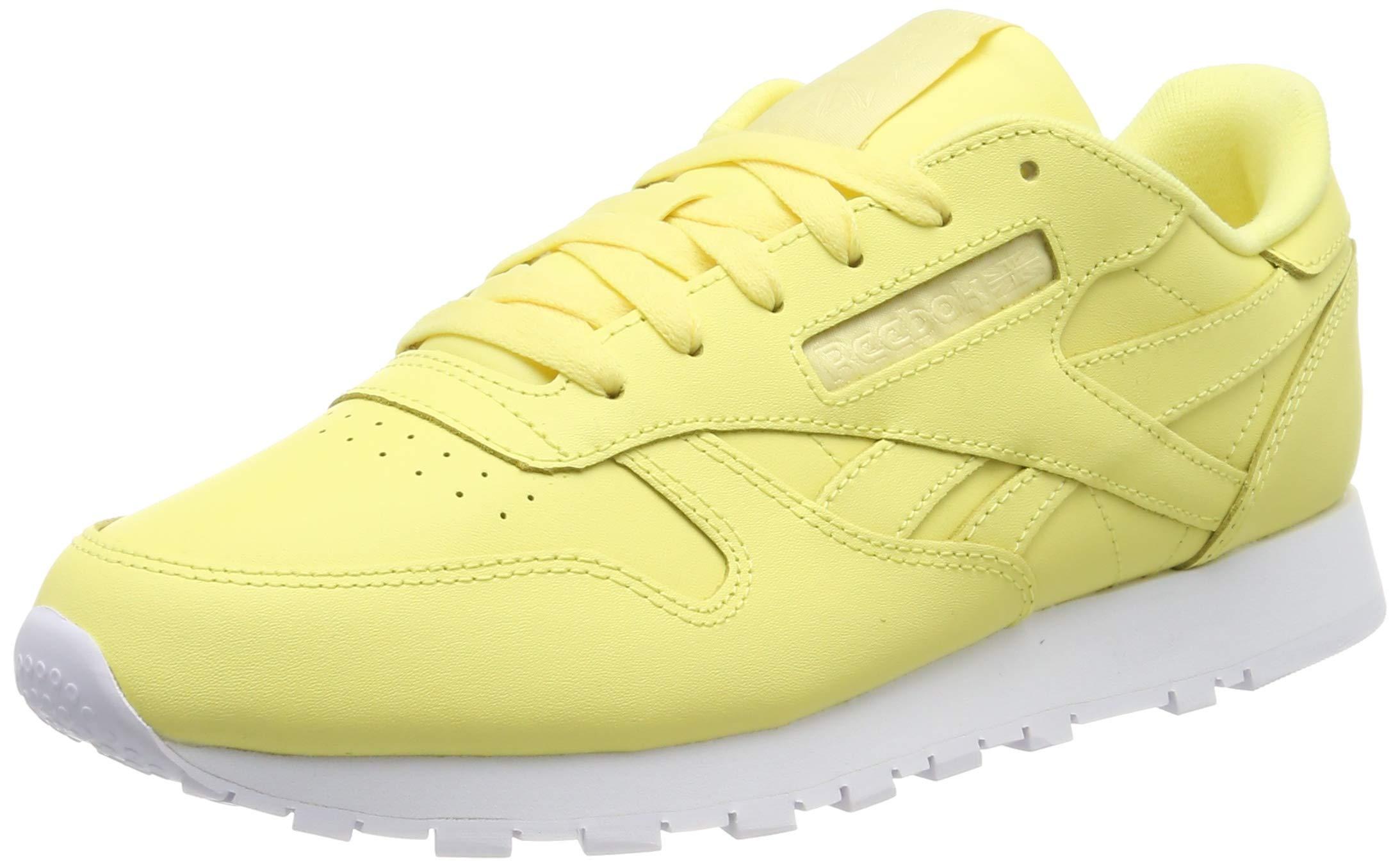 5 040 Reebok Basses Classic LeatherSneakers FemmeJaunefiltered Eu Yellow white 0wO8nXPk
