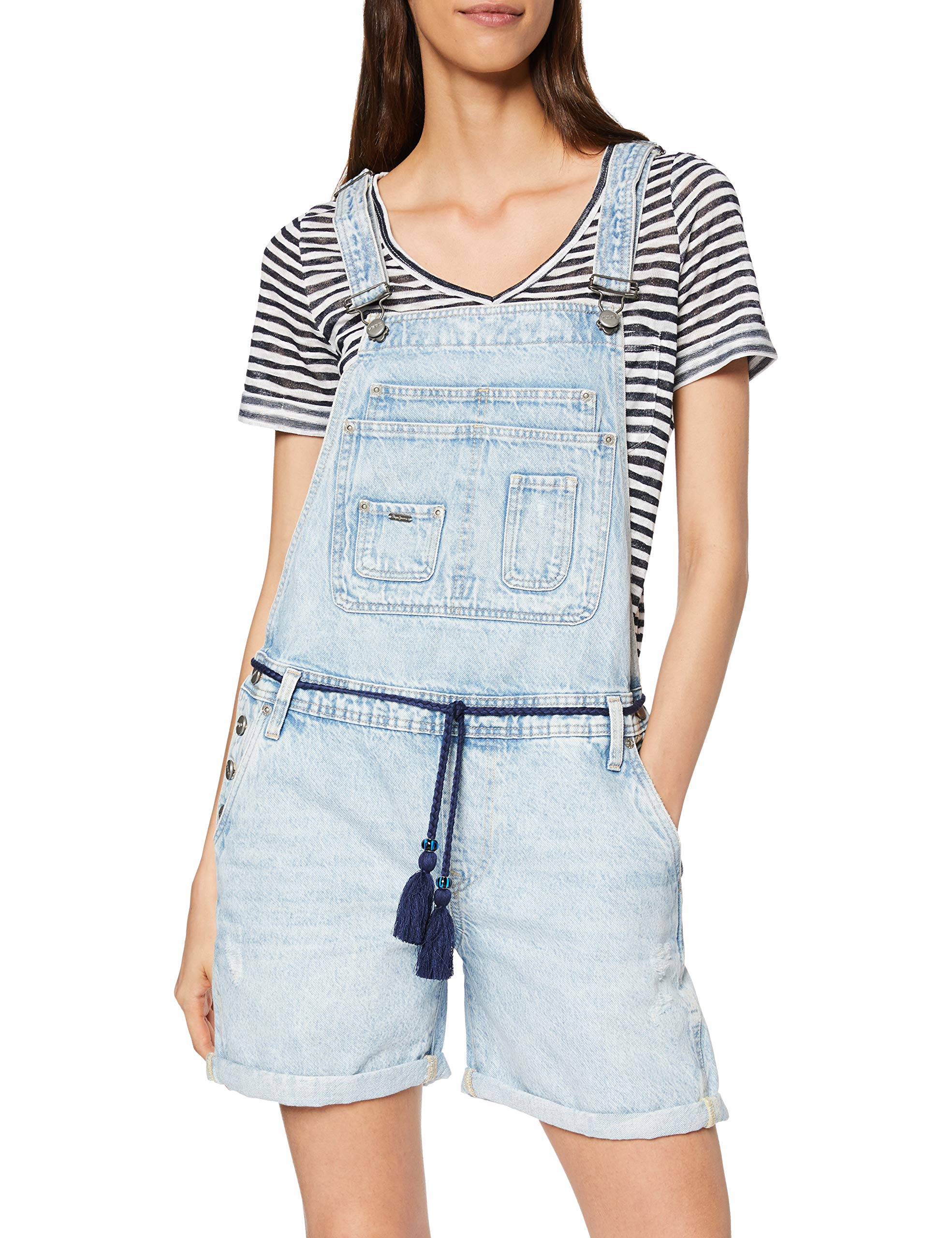 000X Fabricant CombinaisonBleudenim Pepe Abby smalltaille Jeans xsFemme n0OPwk