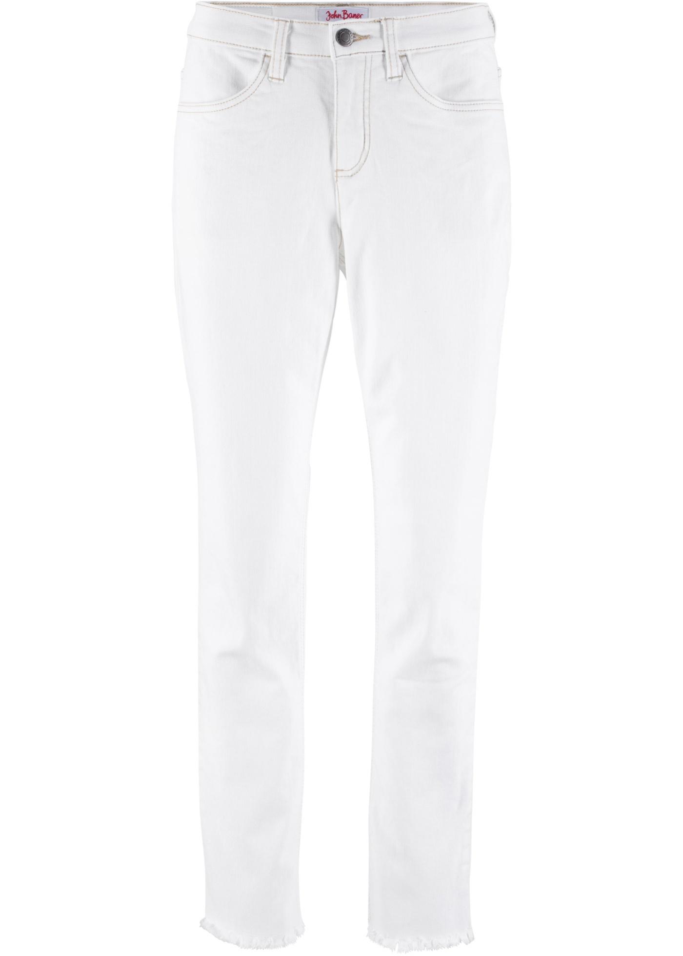 Extensible Authentique Femme Classic 8 Pour BonprixJean Jeanswear Blanc John 7 Baner cjAq4L3R5