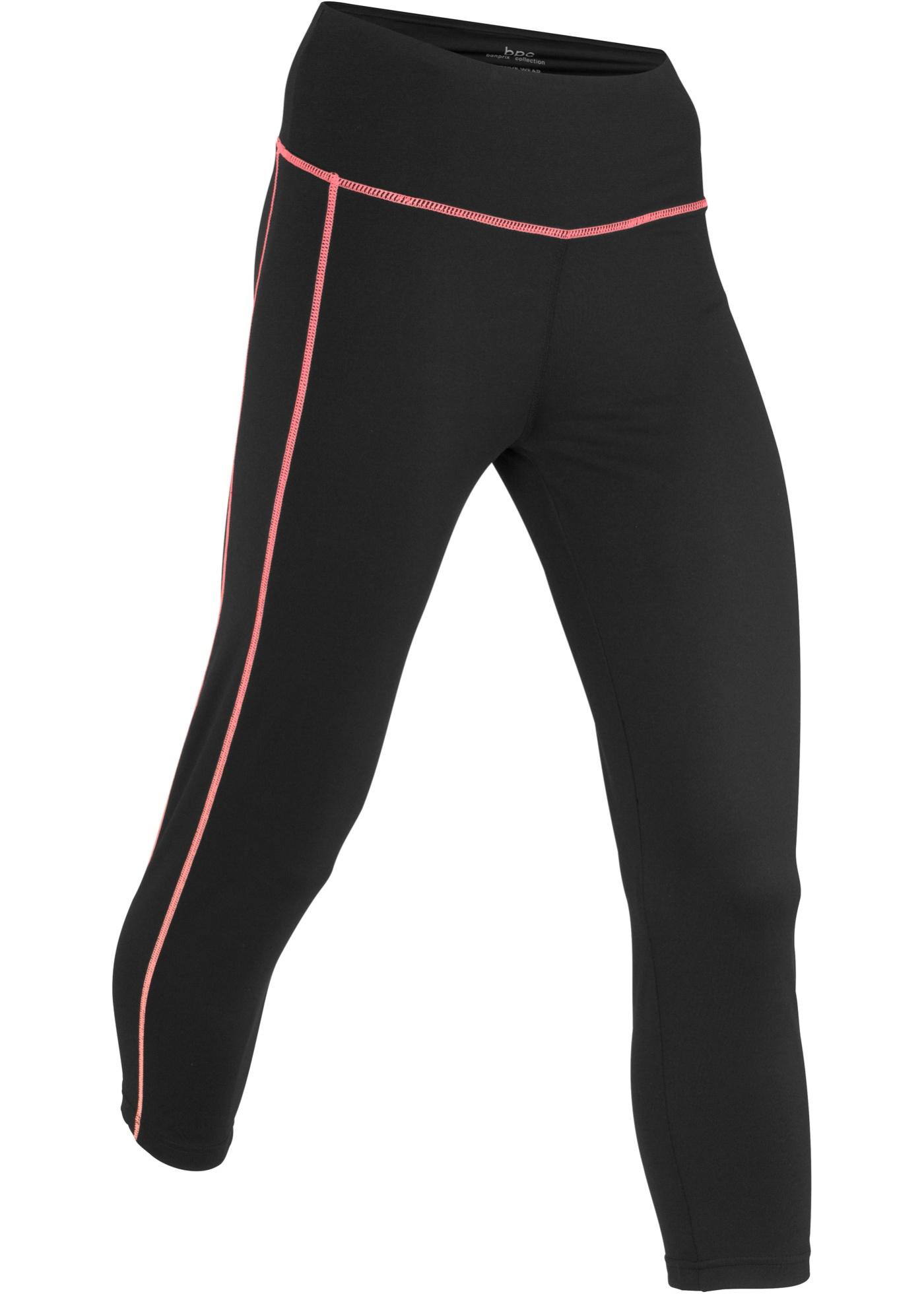 Sport Bonprix Longueur Pour 3 Noir 4Niveau Bpc De Femme CollectionLegging 2 4RL5Aj