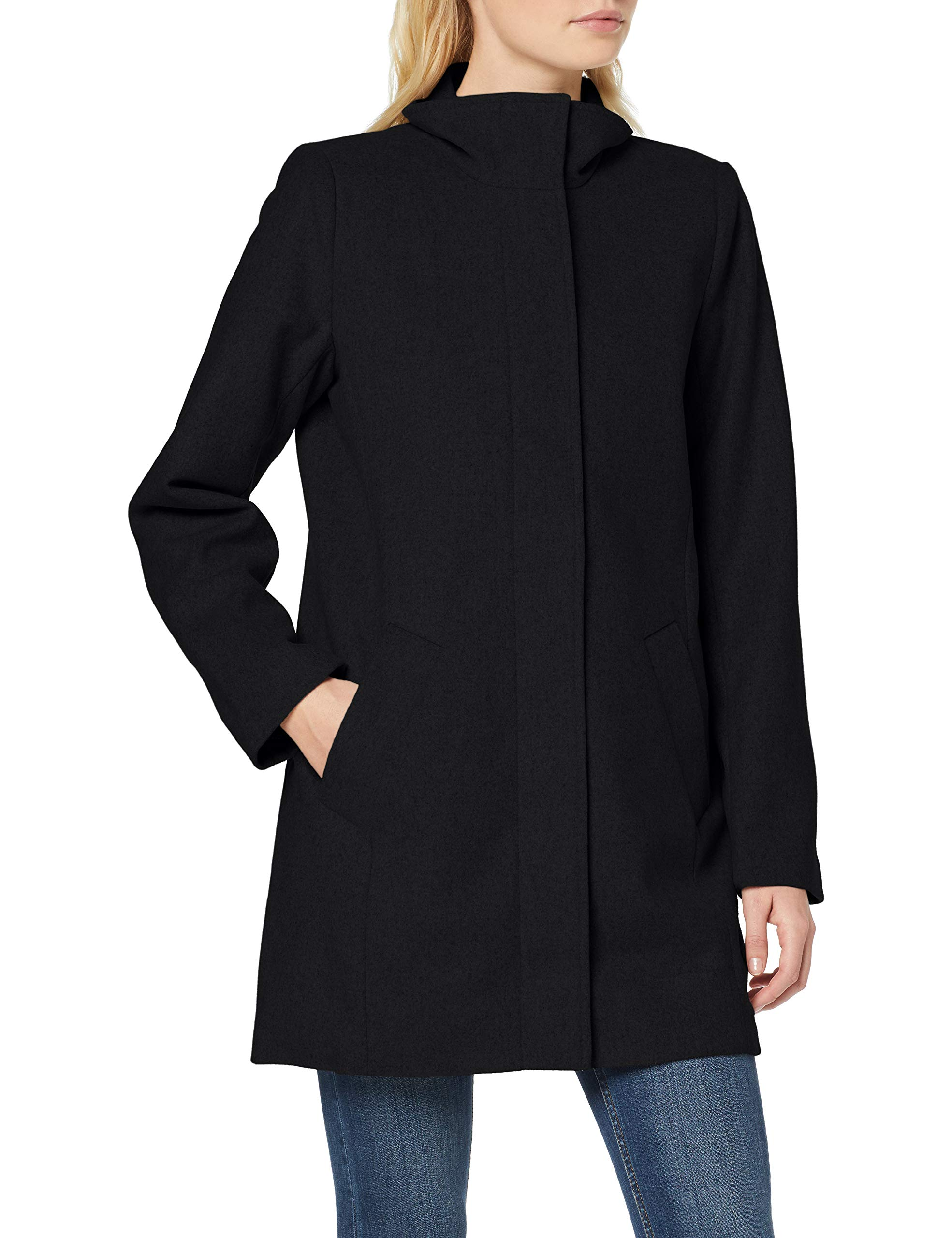 Fabricant36Femme Objsasha Nos Object Nora ManteauNoir Coat Noos Black38taille UzMVqSpG