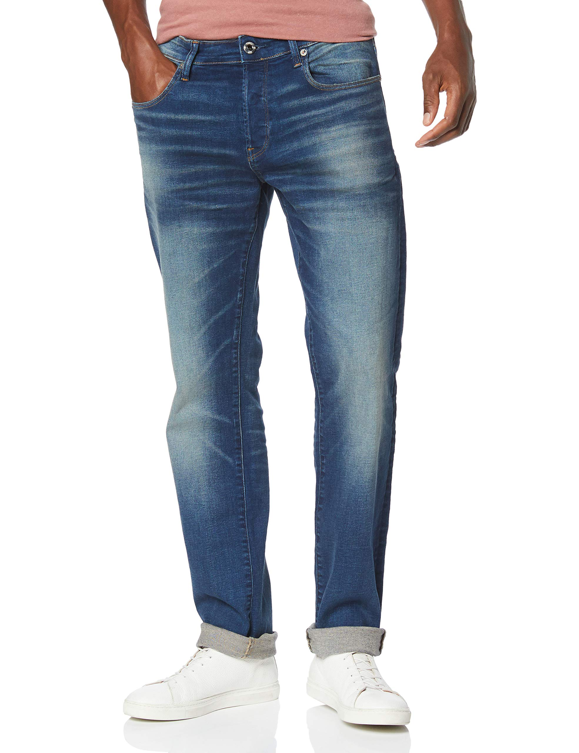 Jean Raw G a888W24 Blue DroitBleuworker A088 l30taille 3301 Faded Straight Fabricant24wL30Homme star XTiuOPkZ