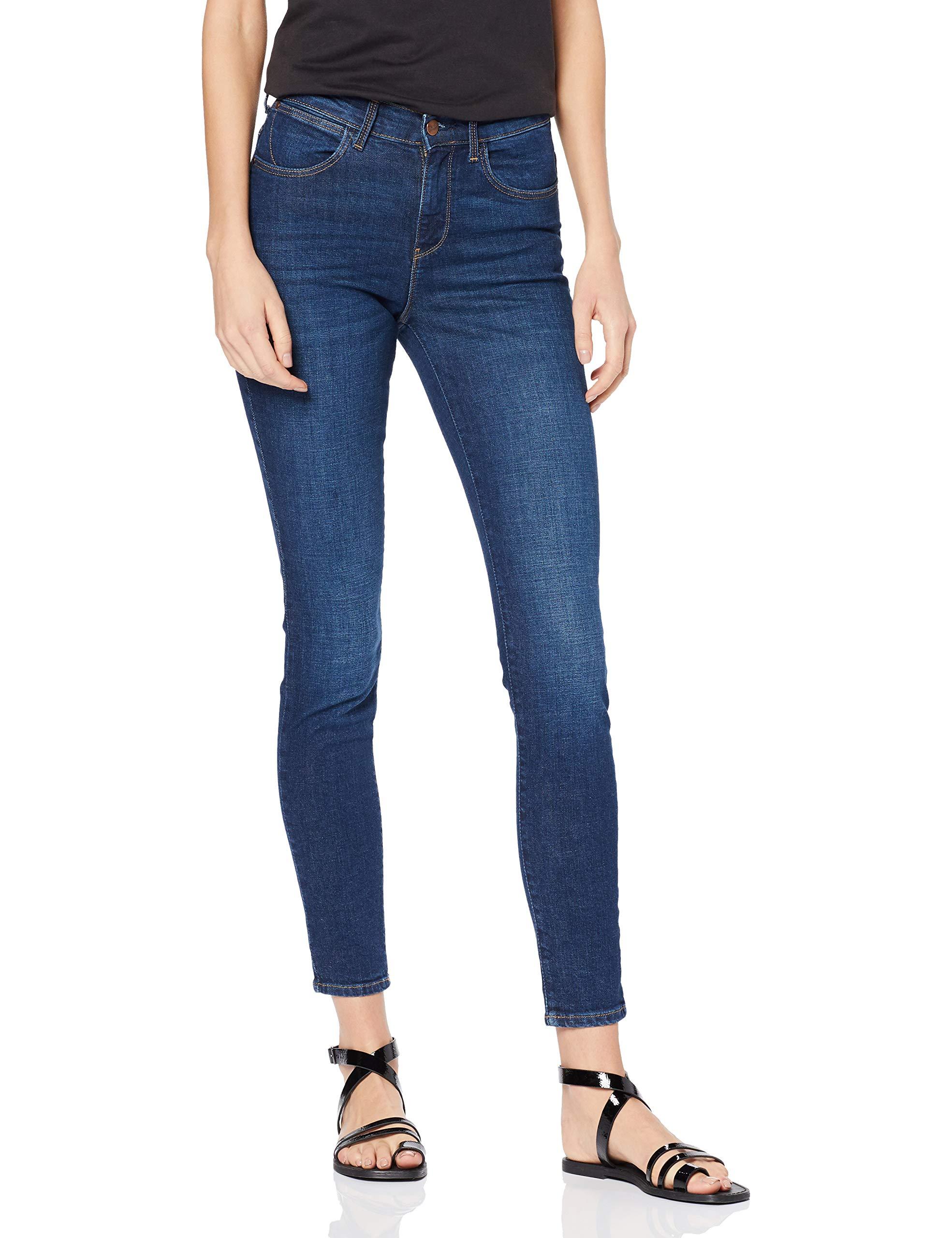 Skinny WranglerHigh Rise l32 Femme Pike Jeans 34mW30 Bleublue KcJlF1