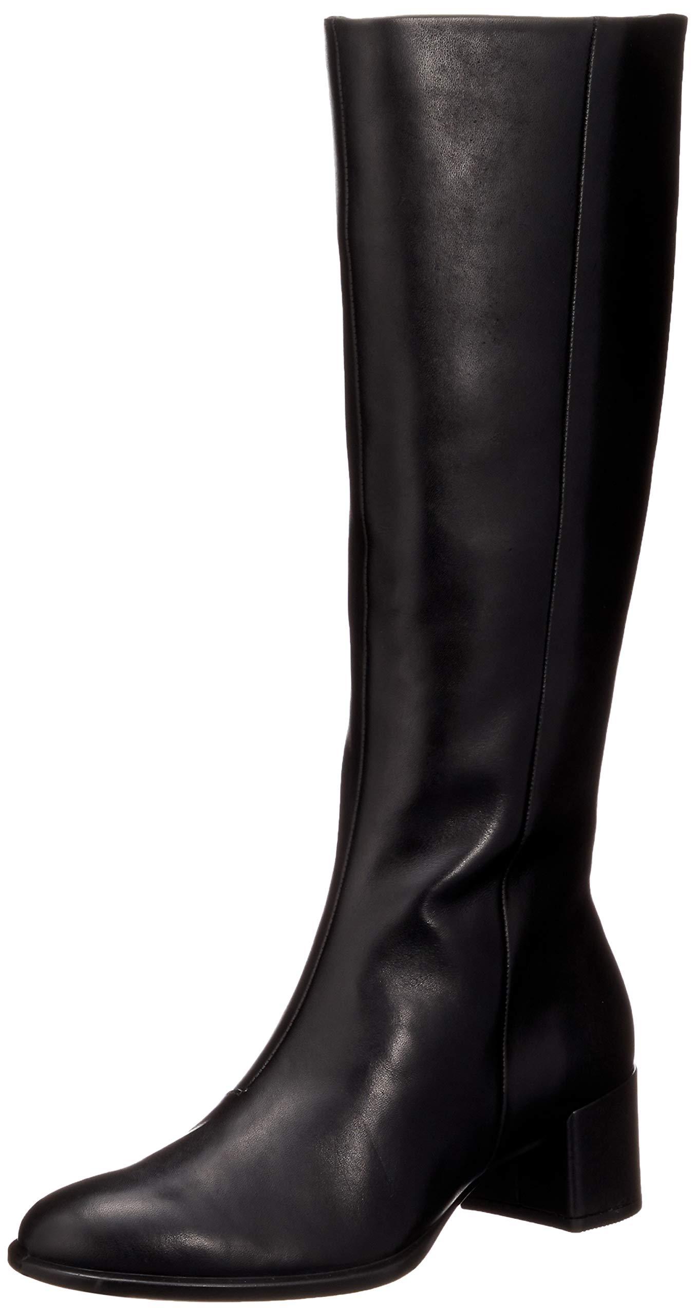 FemmeNoirblack Eu Ecco Block Hautes 35 Tall 100137 BootBottes Shape nOPX0kN8w