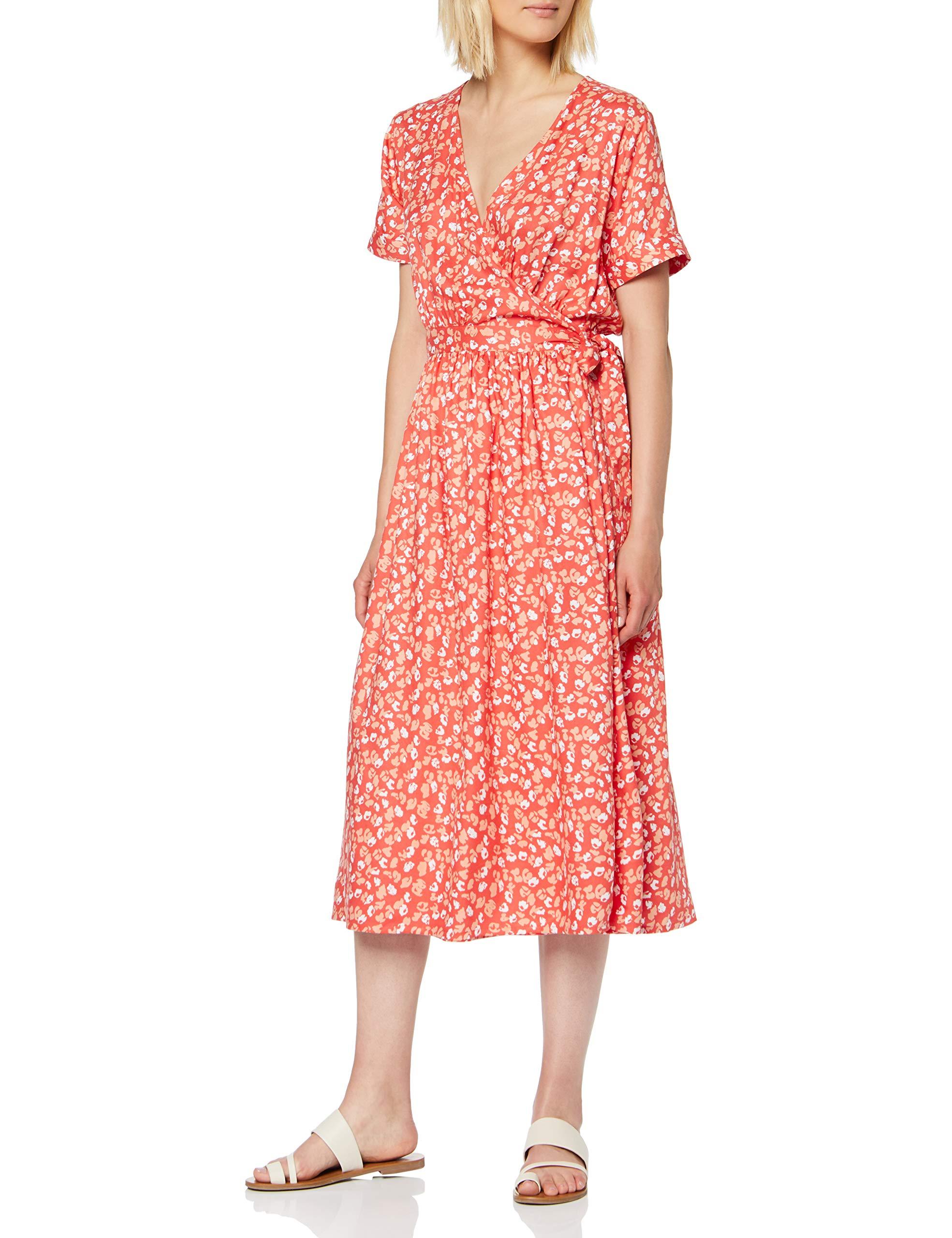 Vivette RobeRougesunset Sparkz Copenhagen Wrap Red 54538taille FabricantMediumFemme Dress 1cFKTlJ