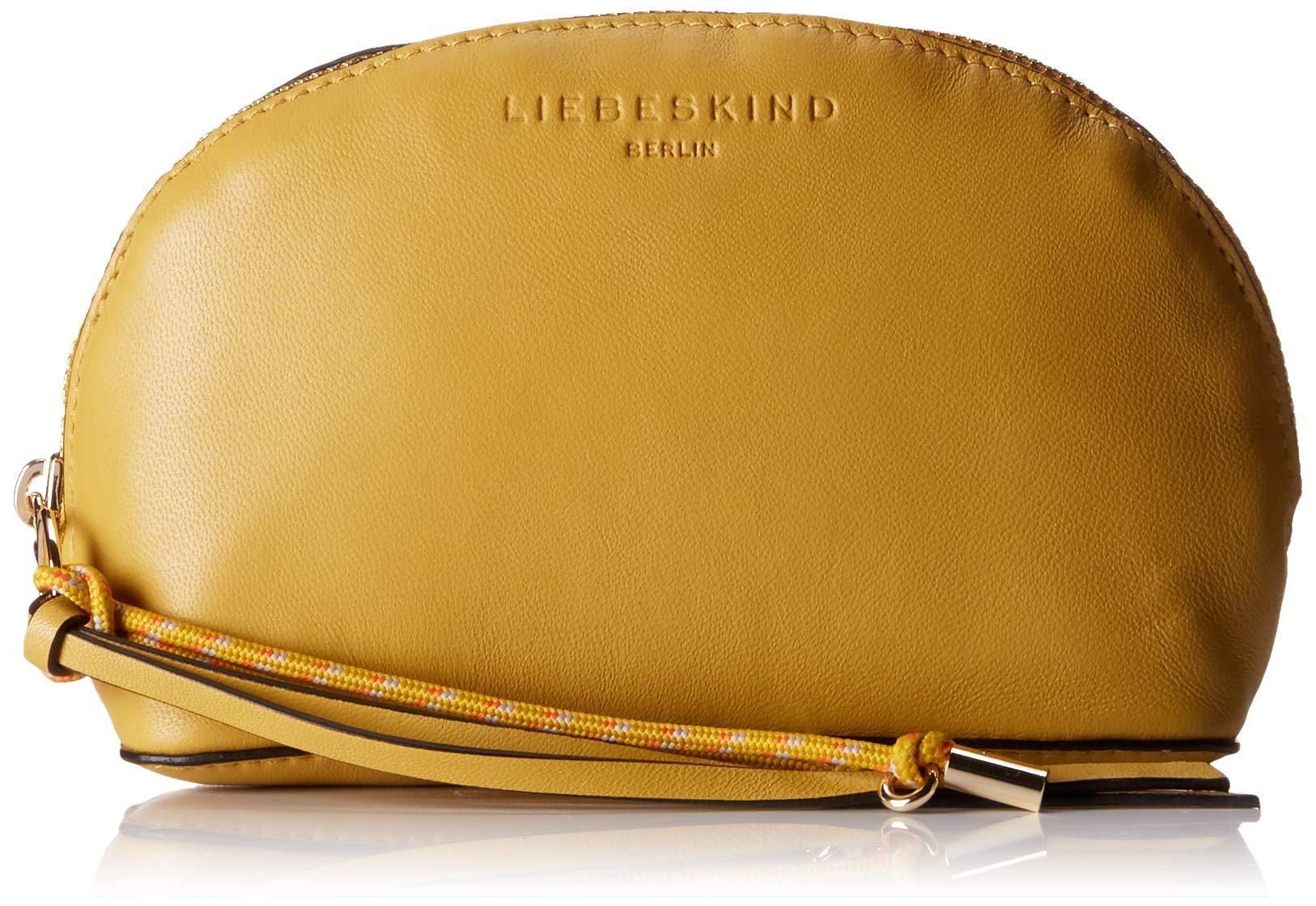 Cosmetic Liebeskind Cmw H SmallOrganiseurs Dive Main L Pouch Bag De Berlin FemmeJaunetawny X Sacs À Yellow7x12x18 b6yYf7g
