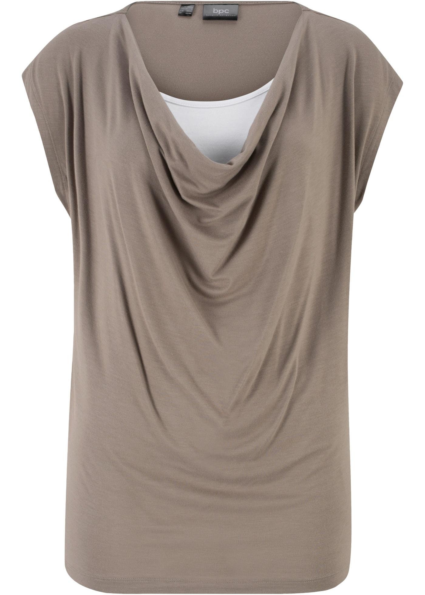 Bonprix CollectionT Manches En Bpc Pour 2 Femme 1 shirt À Courtes Vert TFJc3lK1u5