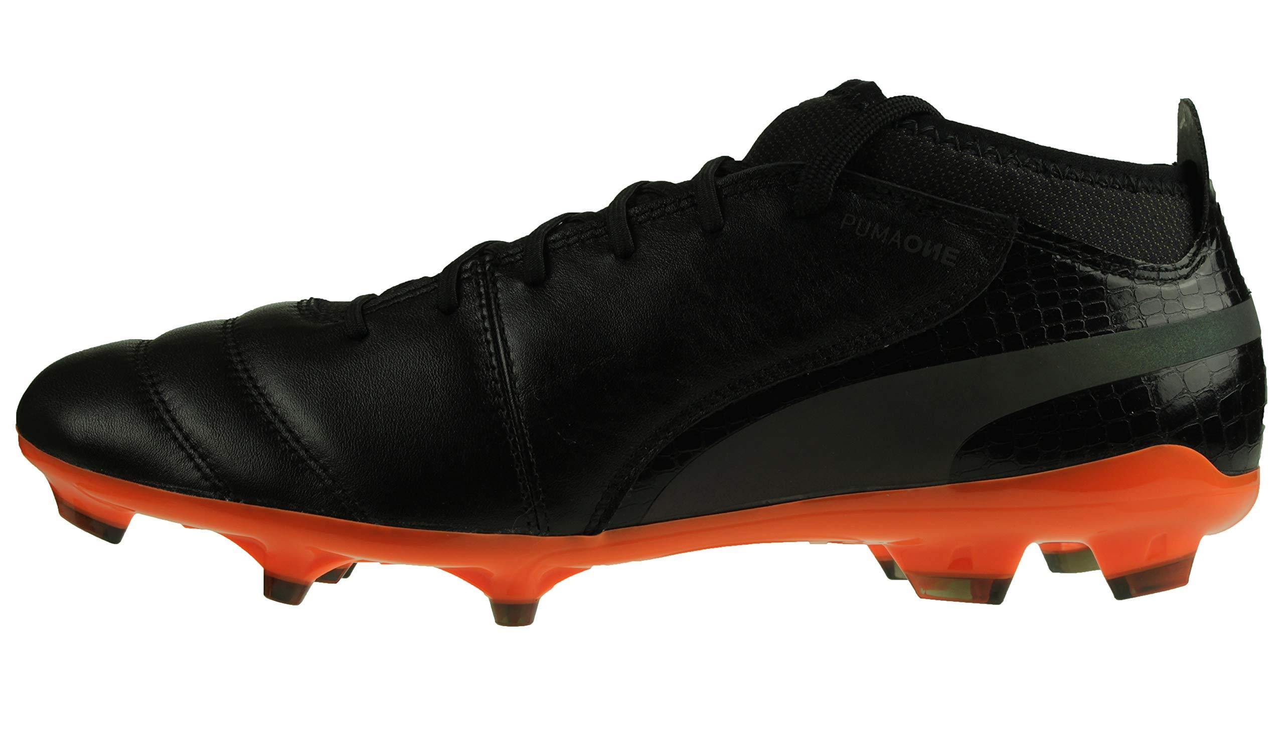 Football 2 Schwarz Puma De Eu FgChaussures HommeNoir orange41 Lux One T13KJcFl