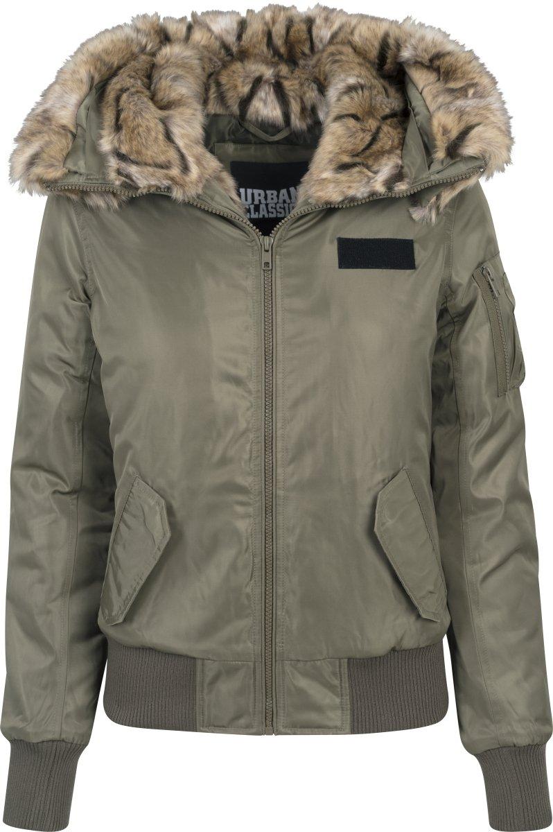 Imitation Jacket Classics 551X Bomber Femme VesteGründarkolive Urban Ladies Fur small QdrshCxtBo