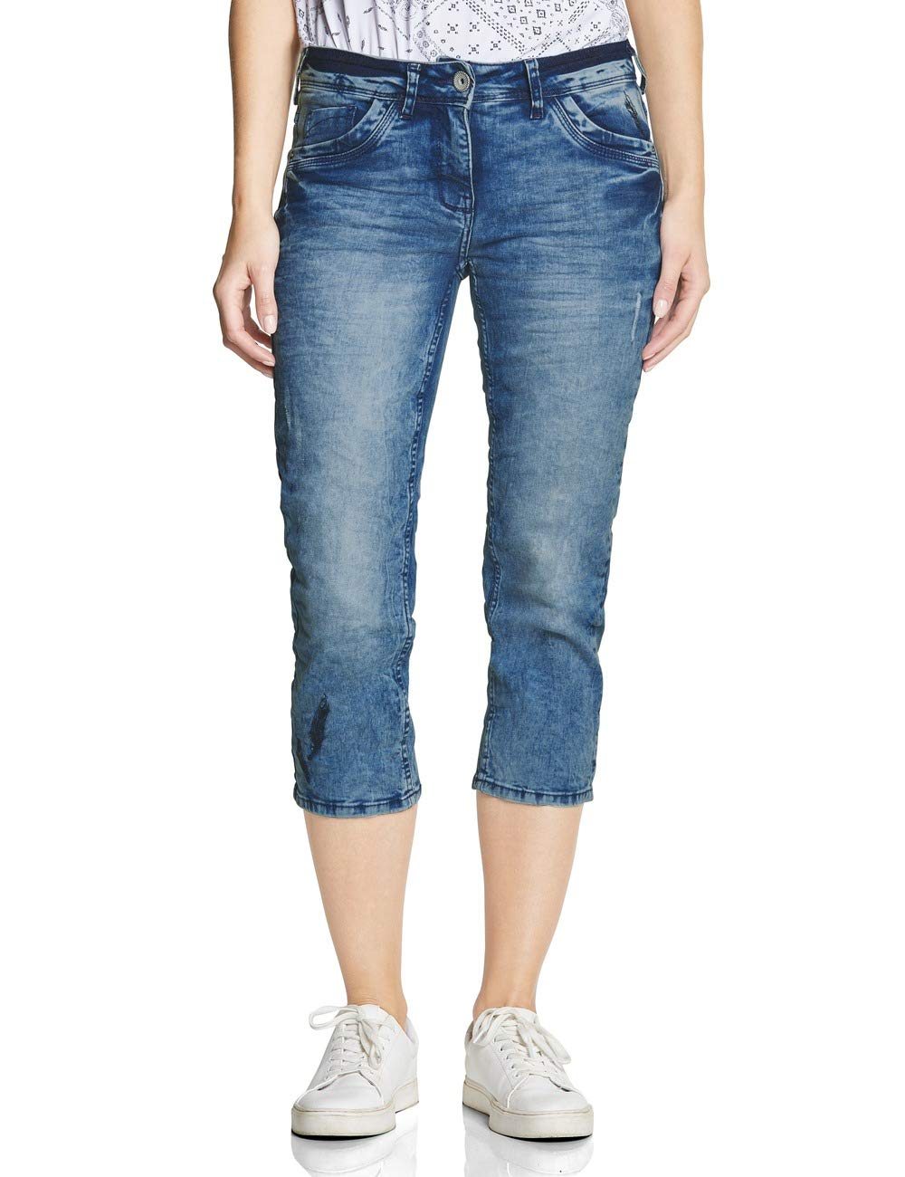Scarlett Wash Jean Fabricant28Femme 372303 Used Cecil 10239W28taille DroitBleuauthentic xedrBWCo