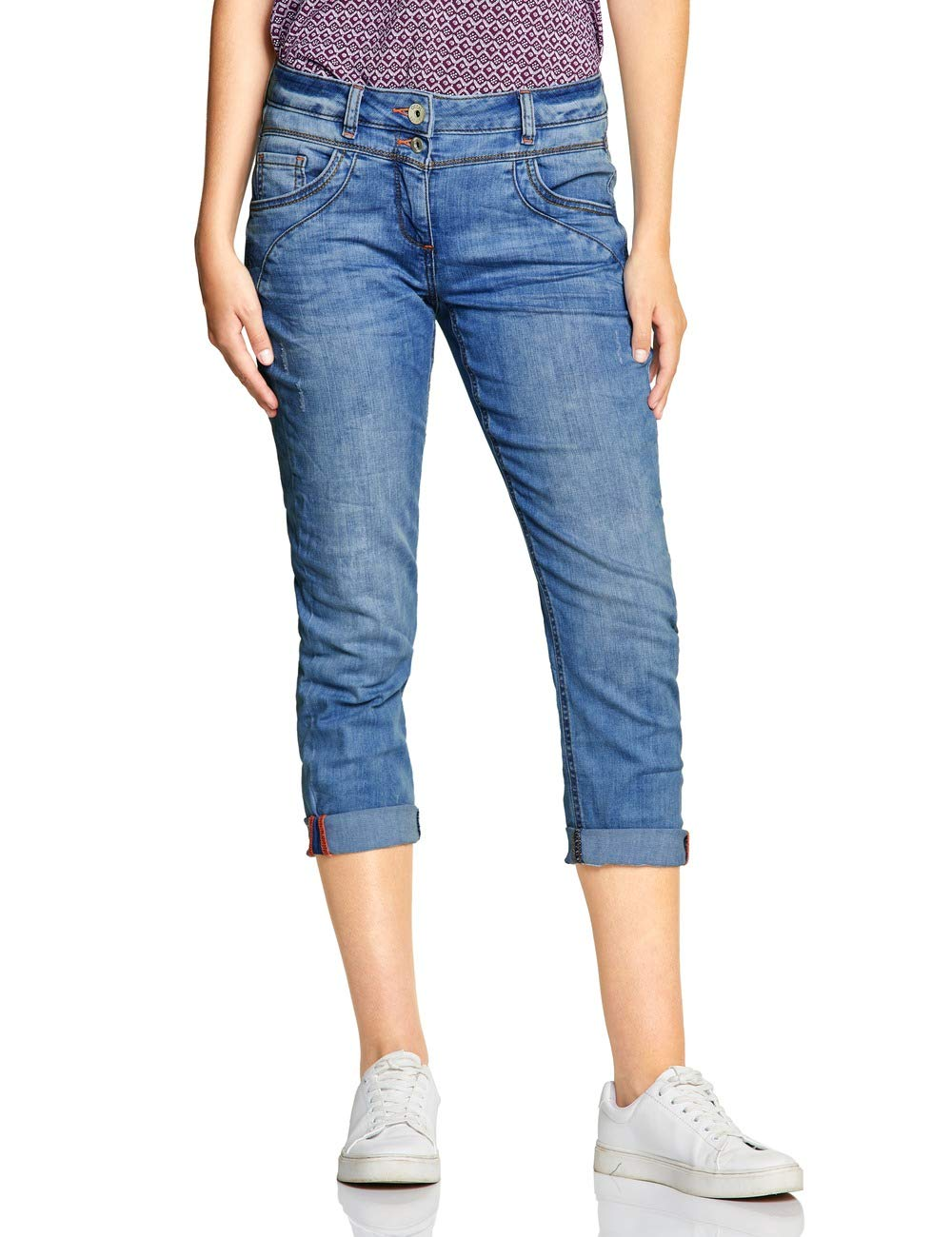 Cecil Fabricant33Femme l26taille Scarlett Used 372299 Wash Jean 10239W33 DroitBleuauthentic vm8nwOyN0