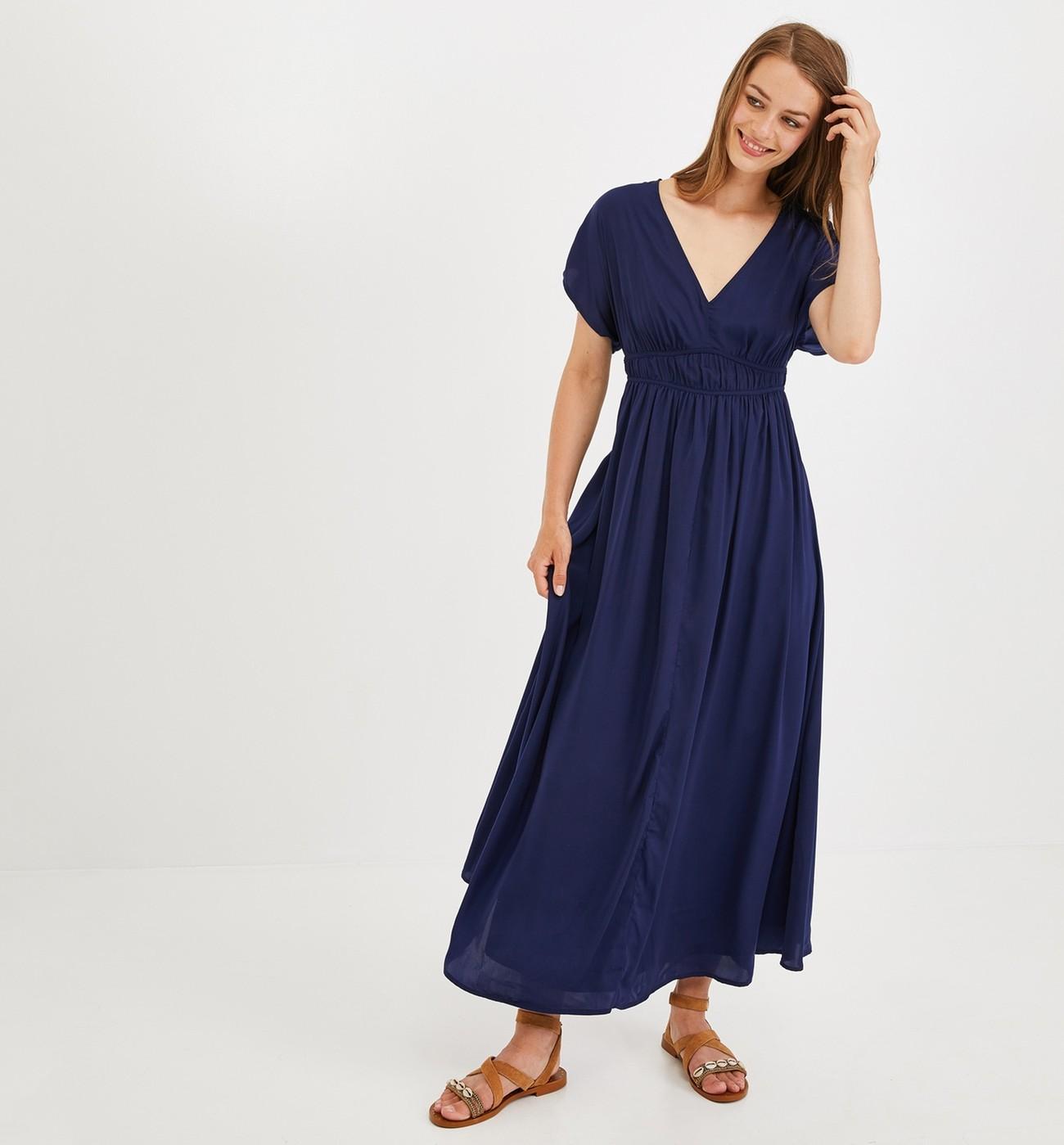 Longue Promod Robe Longue Soyeuse Robe Longue Soyeuse Promod Promod Robe Soyeuse Promod P8n0wkO
