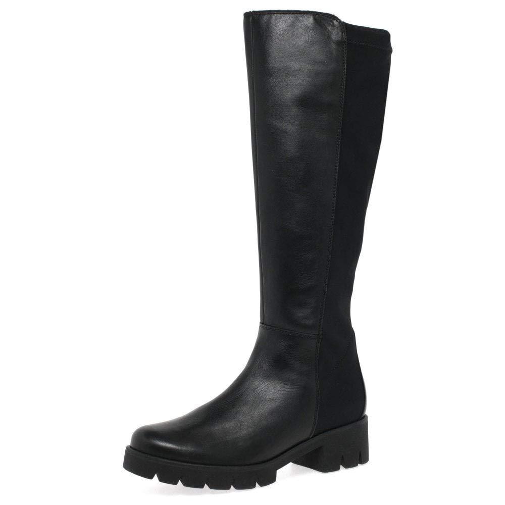 Eu Shoes 2740 Hautes Gabor CasualBottes FemmeNoirschwarz Yf7gyb6vIm