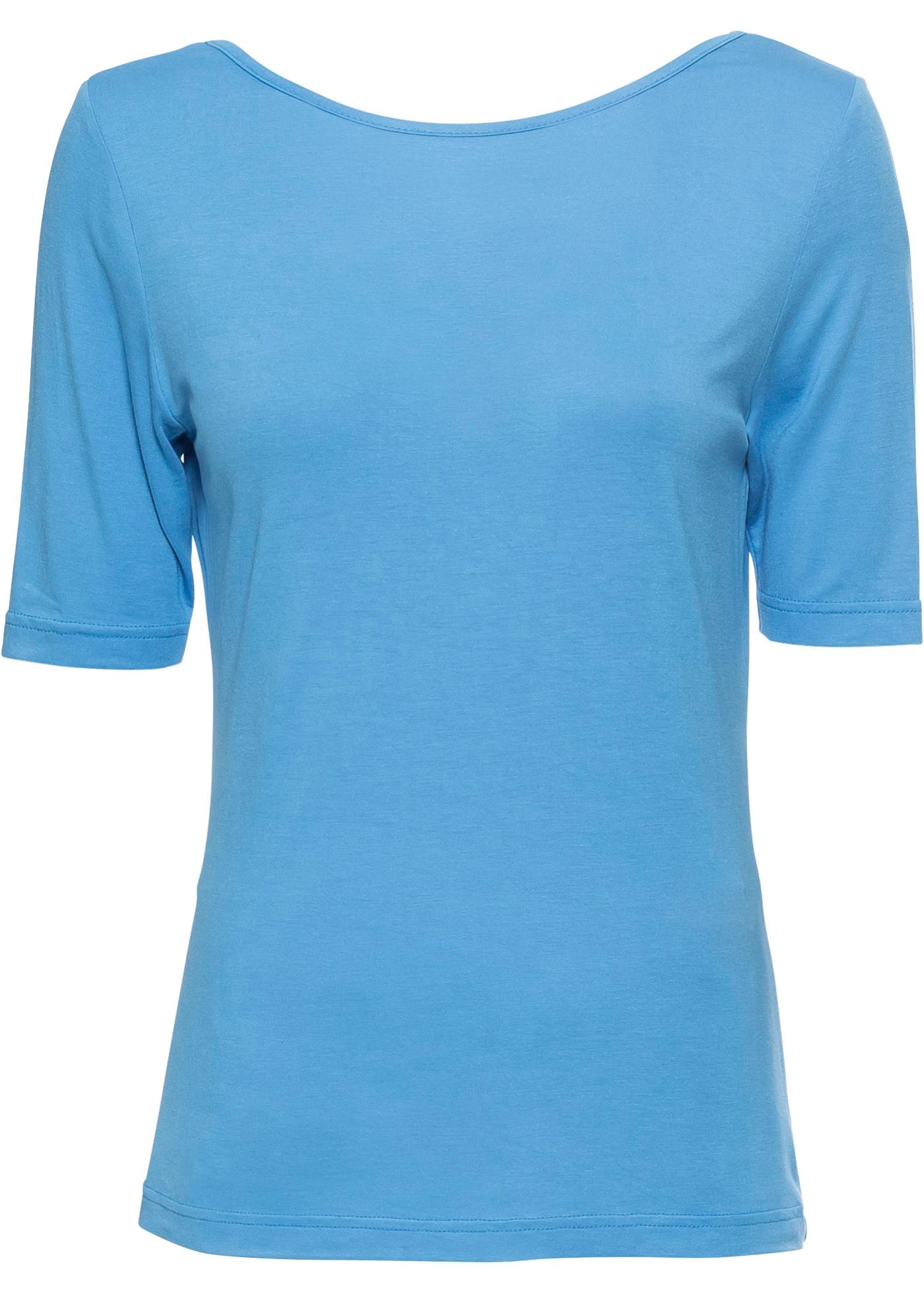 Pour Femme longues shirt Manches Mi Bleu Bodyflirt BonprixT H9e2bEWIDY