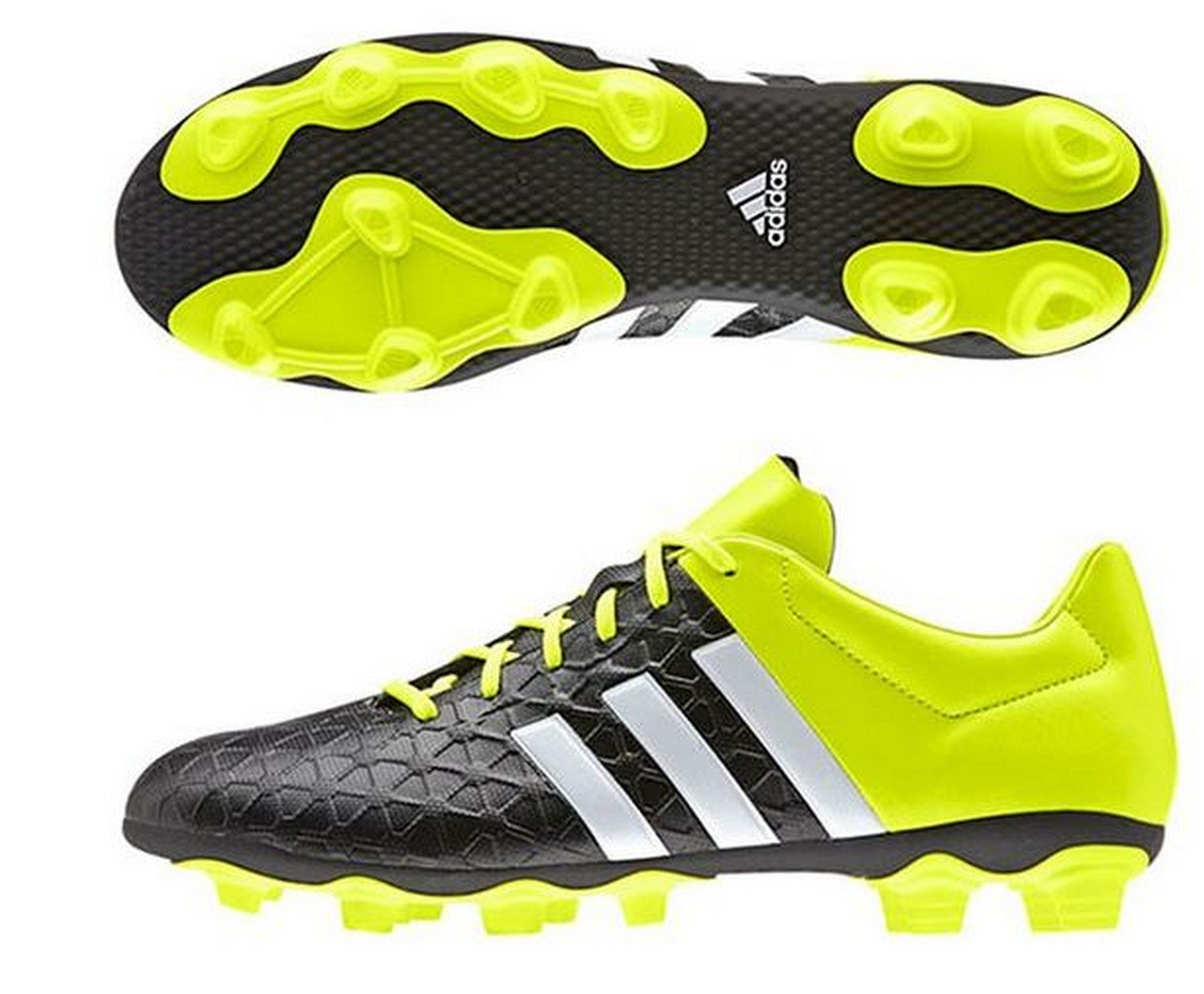Adidas FxgChaussures Black solar Yellow40 De 2 Ace 3 ftwr White HommeJauneGelbcore 15 Football 4 0OnkwP