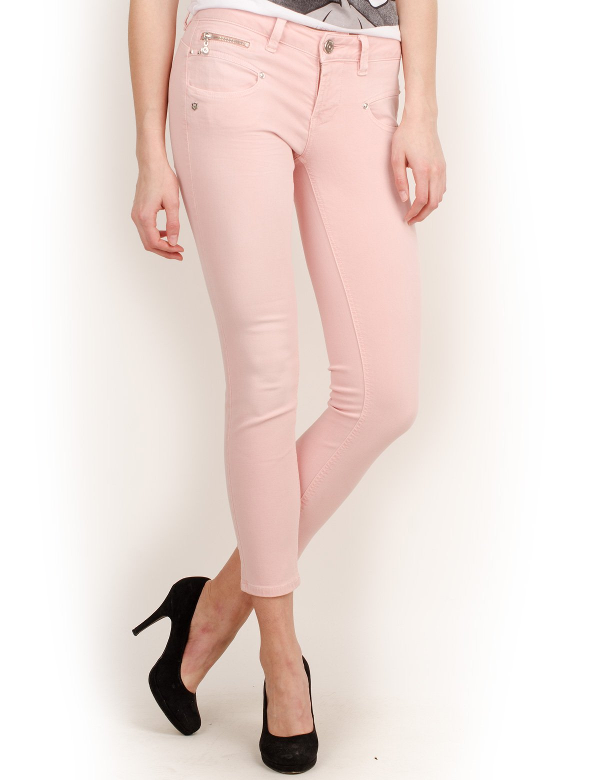 Freeman Cropped Color FabricantLFemme T PantalonRosepeachskinW30taille Magic Alexa porter Nnv8Owm0