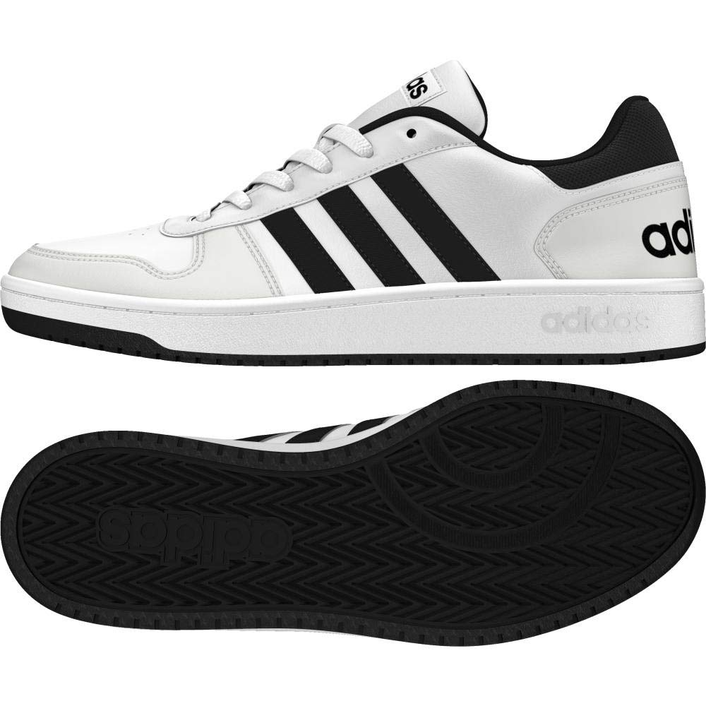 Fitness 1 00049 Adidas Hoops 0Chaussures HommeBlancftwbla 3 Eu 2 De griuno negbas c3ARqS4Lj5
