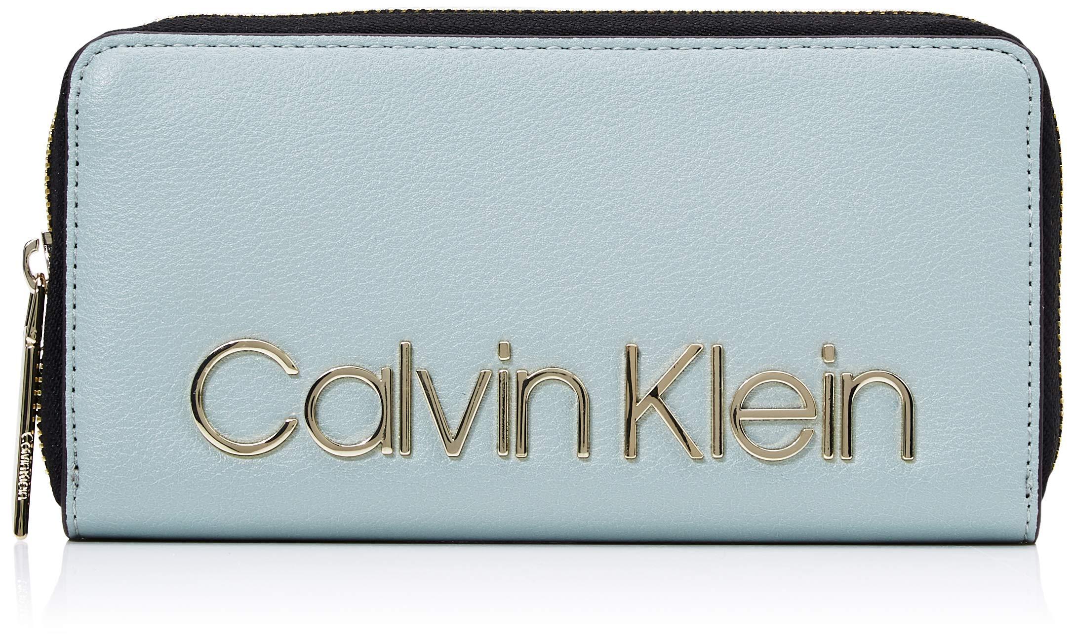 X Calvin H Cmw ZiparoundPortefeuilles Klein L Must FemmeGrisfern1x1x1 Ck Lrg PXuOikZ