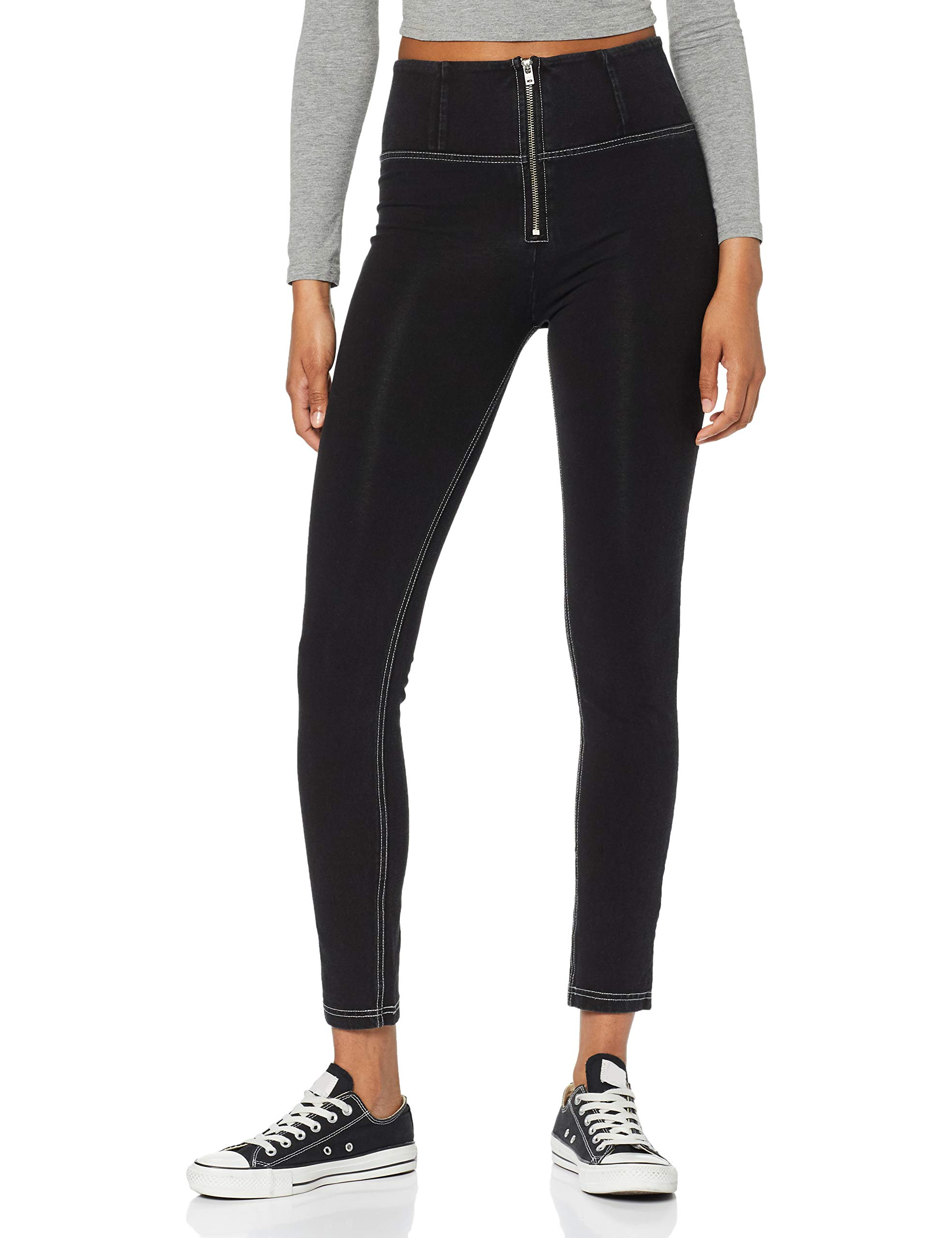 Wrup1hj01e PantalonBleujeans cuciture Freddy Nero FabricantSmallFemme Grigie J7g36taille WeEH2Y9DI